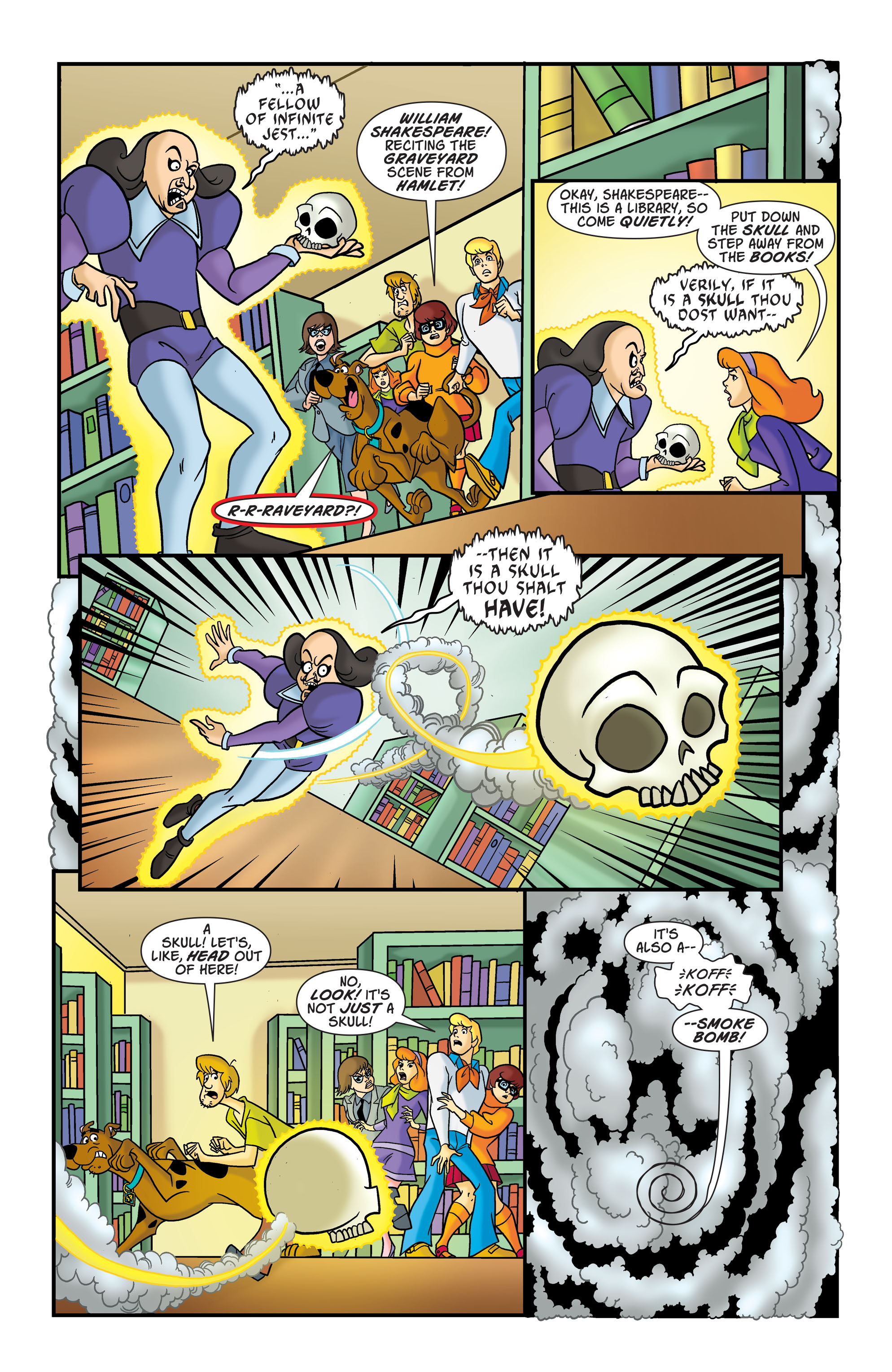 Read online Scooby-Doo: Where Are You? comic -  Issue #76 - 5