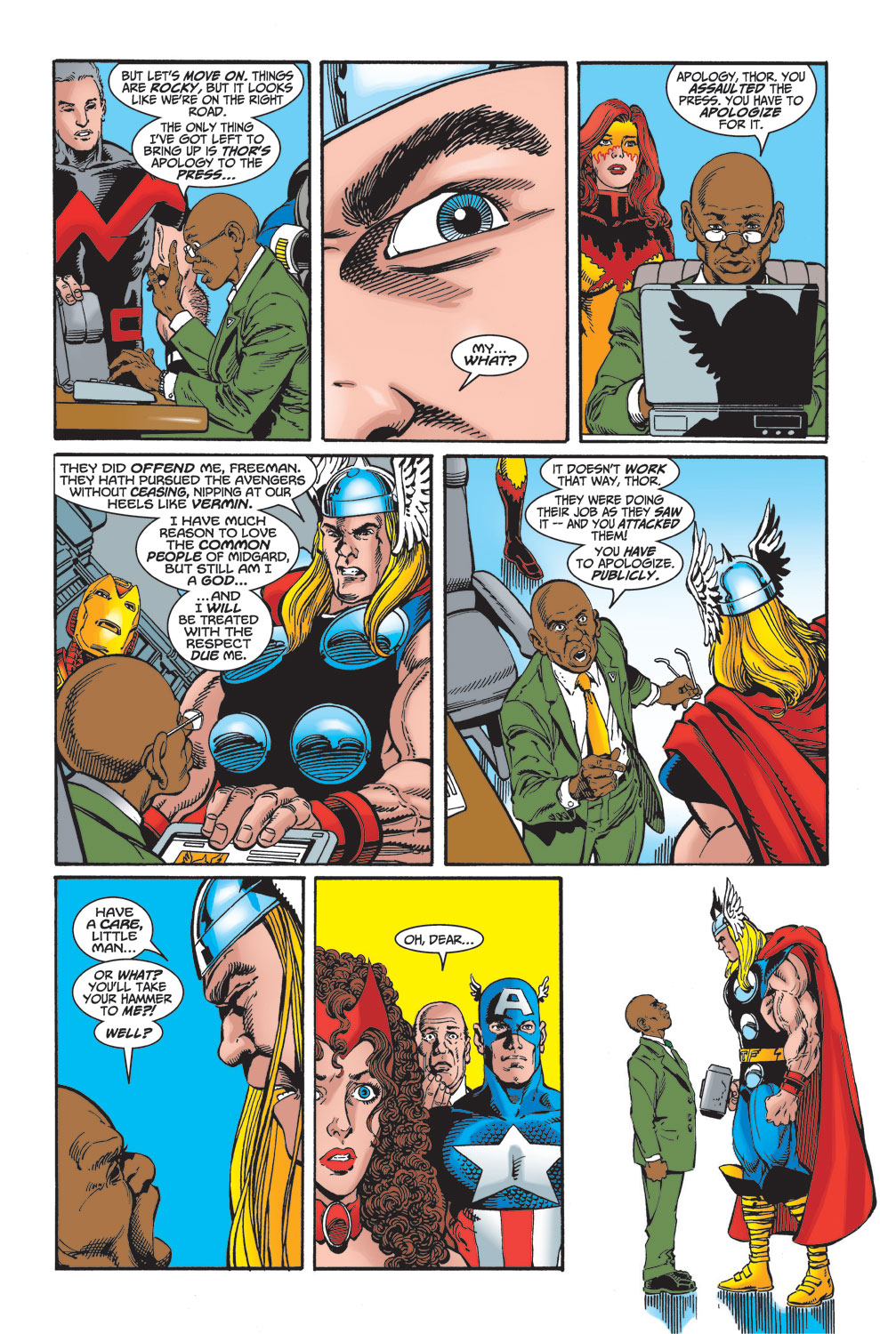 Read online Avengers (1998) comic -  Issue #27 - 8
