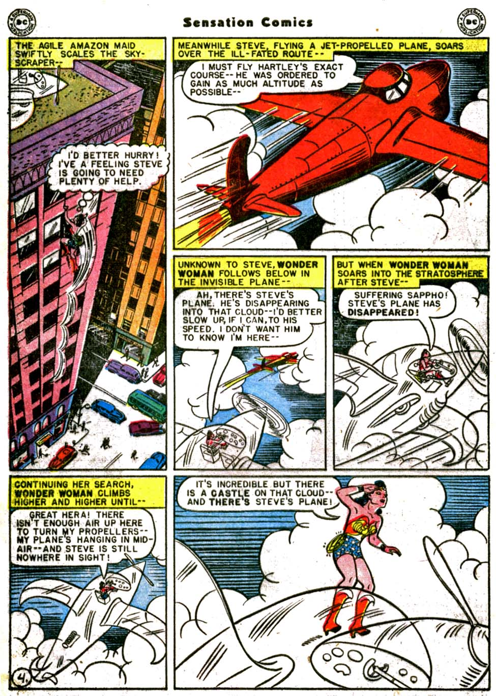 Read online Sensation (Mystery) Comics comic -  Issue #64 - 6