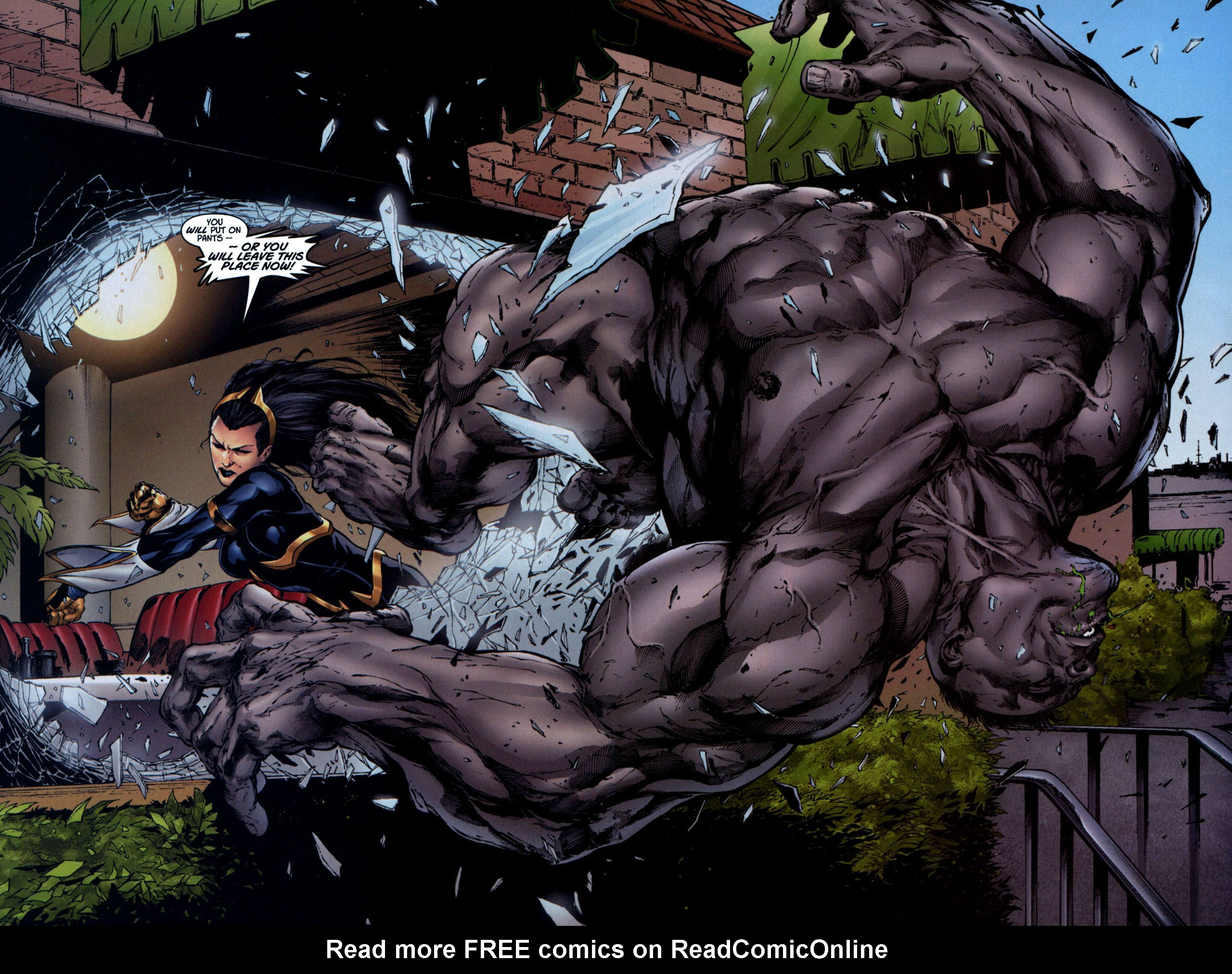 Read online Ultimate Hulk Annual comic -  Issue # Full - 18