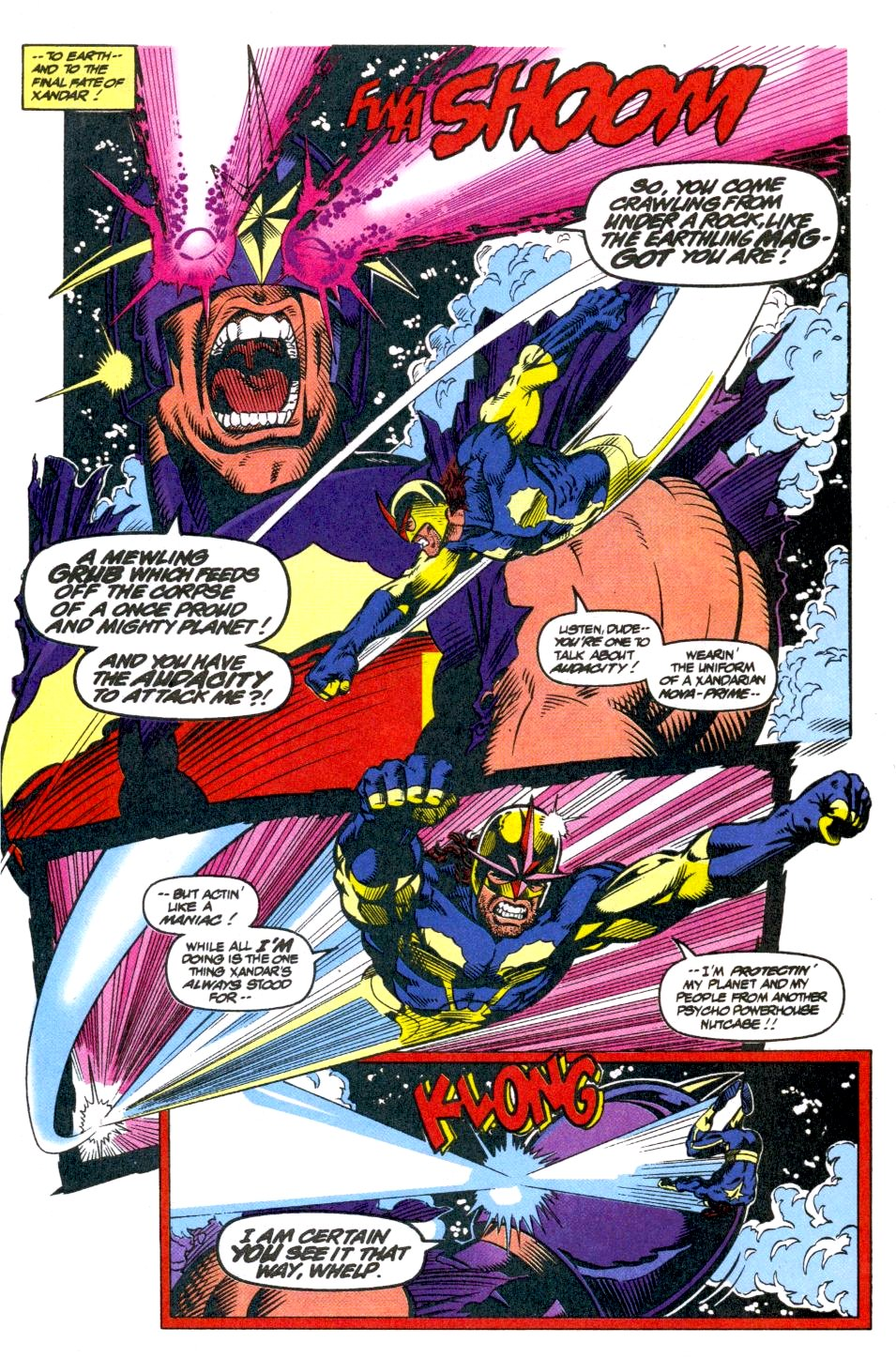 The New Warriors Issue #40 #44 - English 18