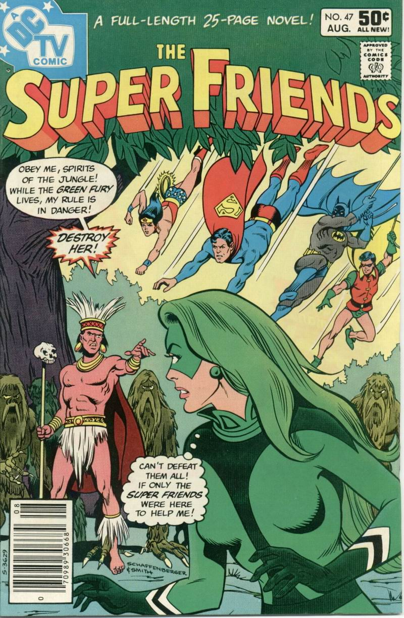 The Super Friends 47 Page 1