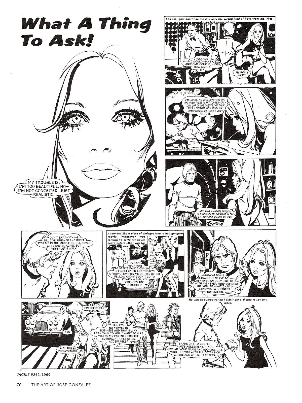 Read online The Art of Jose Gonzalez comic -  Issue # TPB (Part 1) - 71