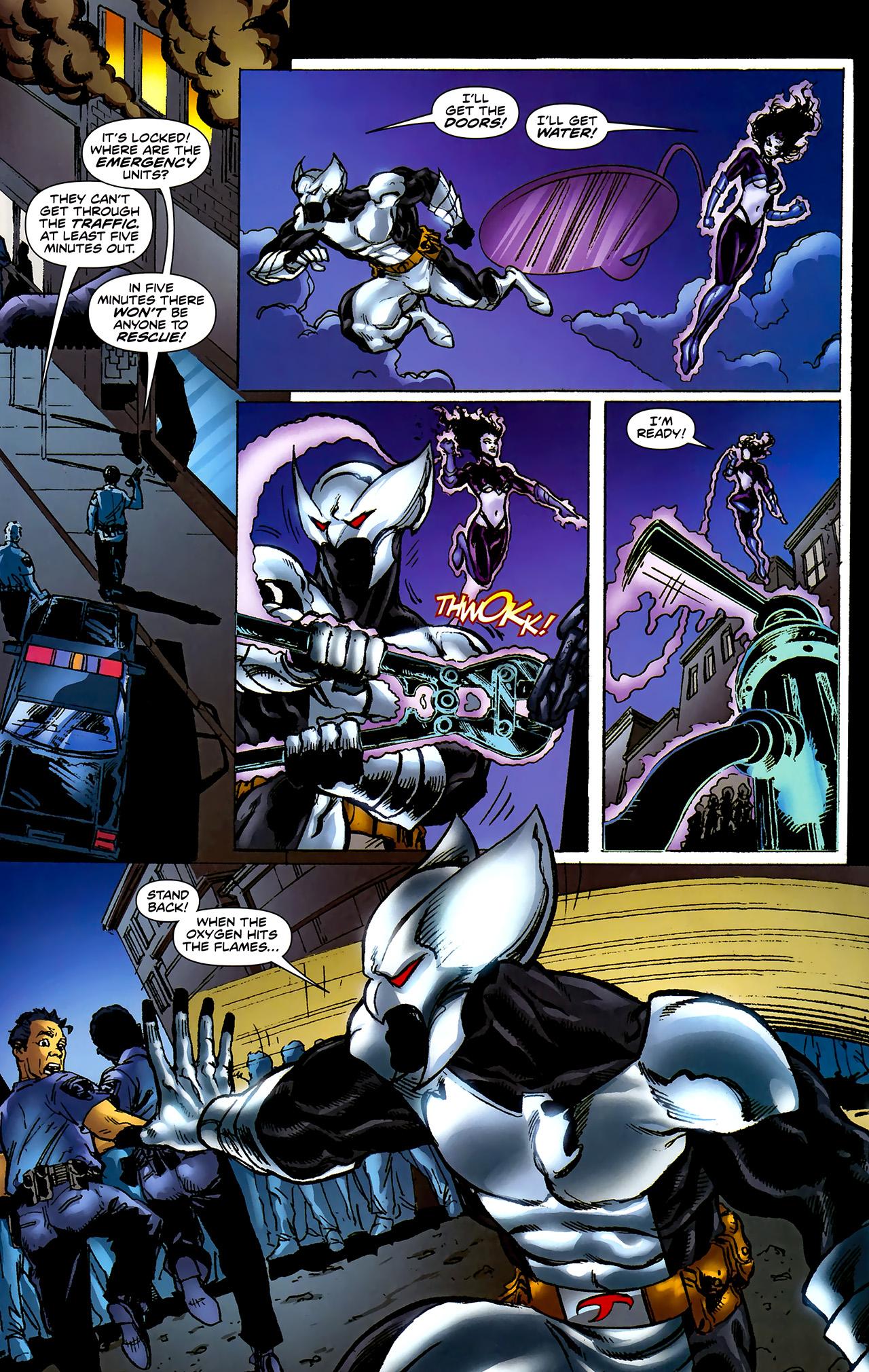 Read online ShadowHawk (2010) comic -  Issue #2 - 19