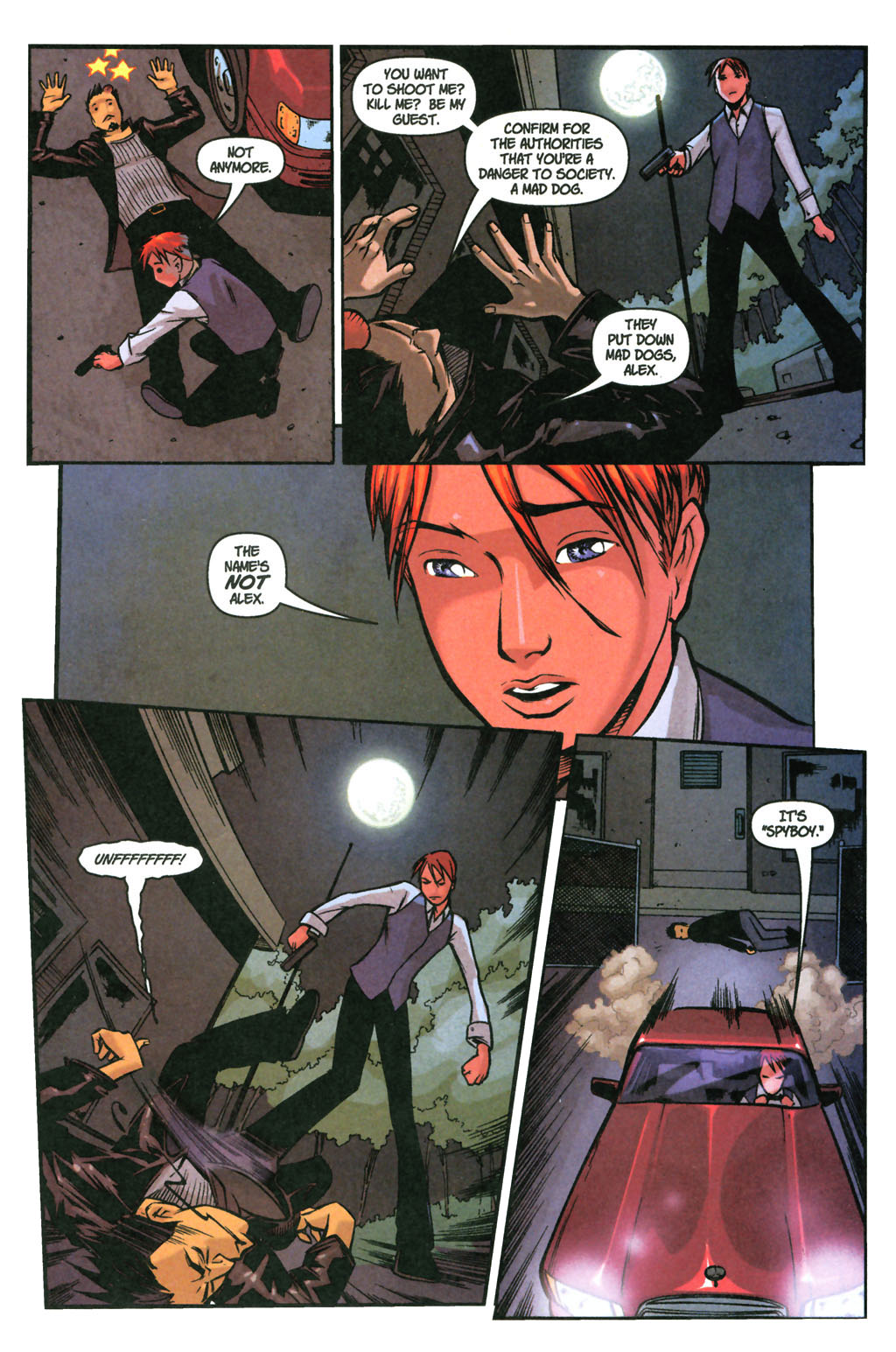 Read online SpyBoy: Final Exam comic -  Issue #3 - 10