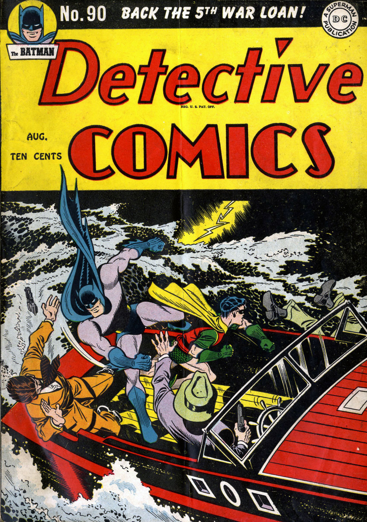 Read online Detective Comics (1937) comic -  Issue #90 - 1