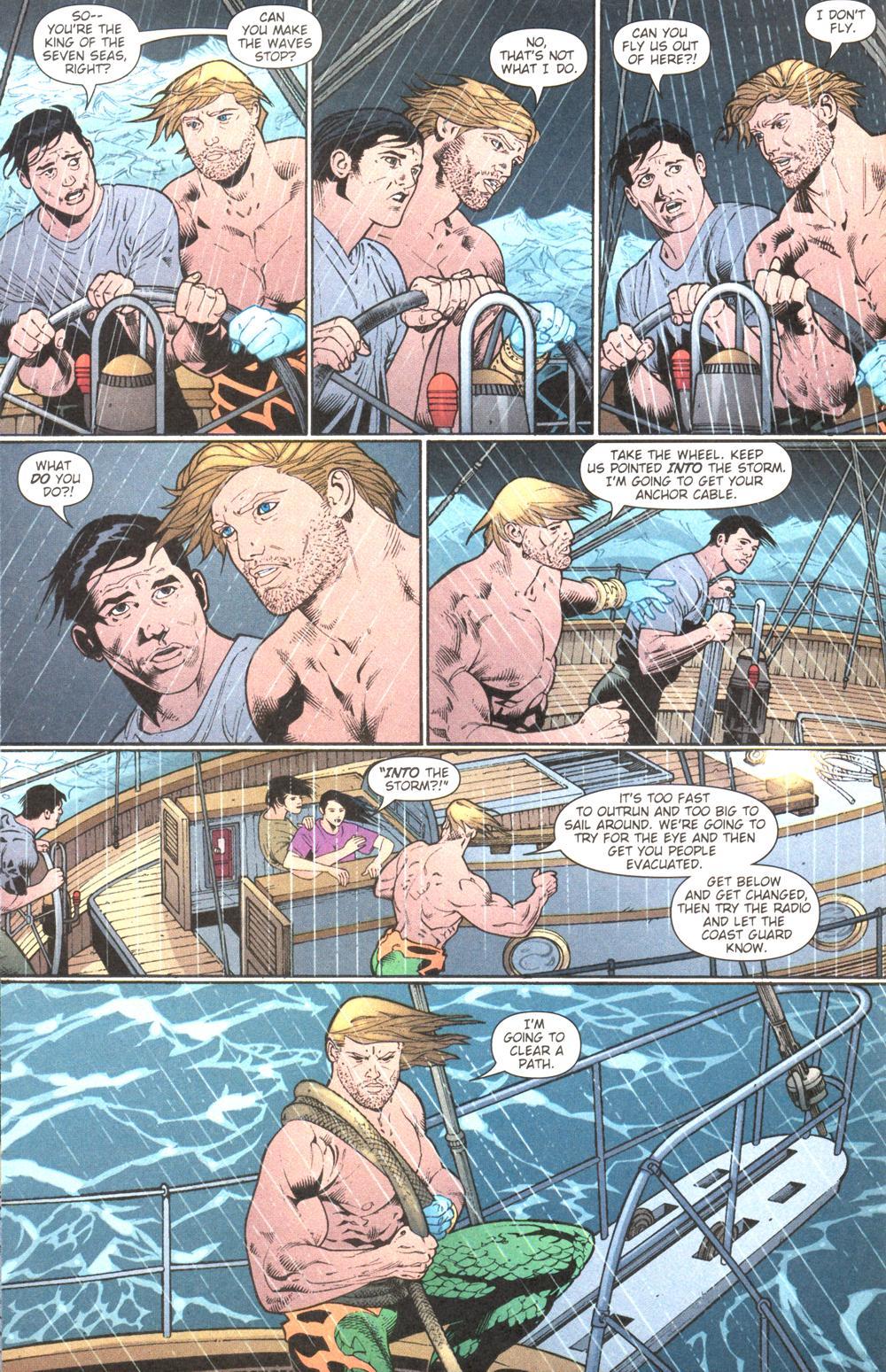 Read online Aquaman (2003) comic -  Issue #13 - 9