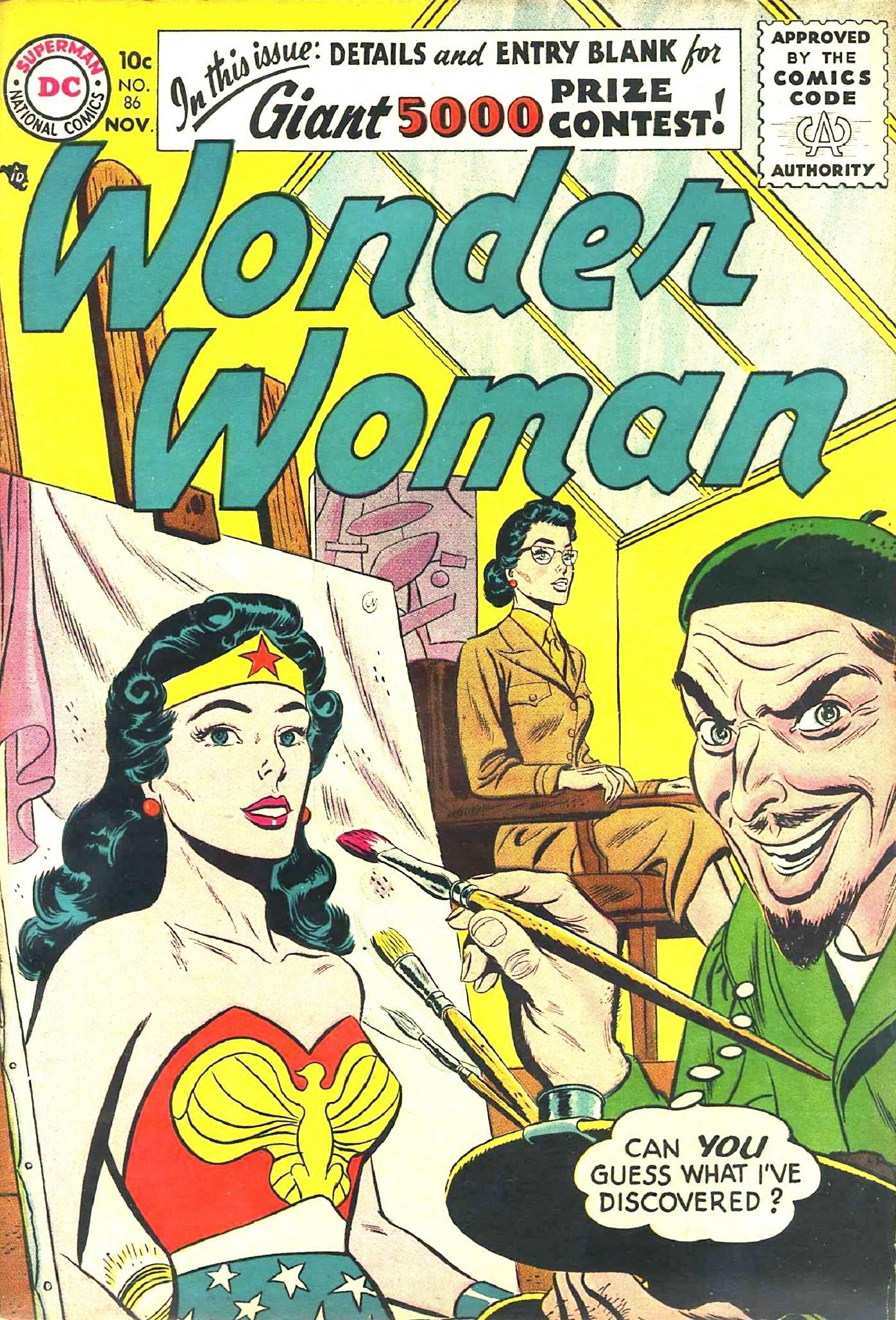 Read online Wonder Woman (1942) comic -  Issue #86 - 1
