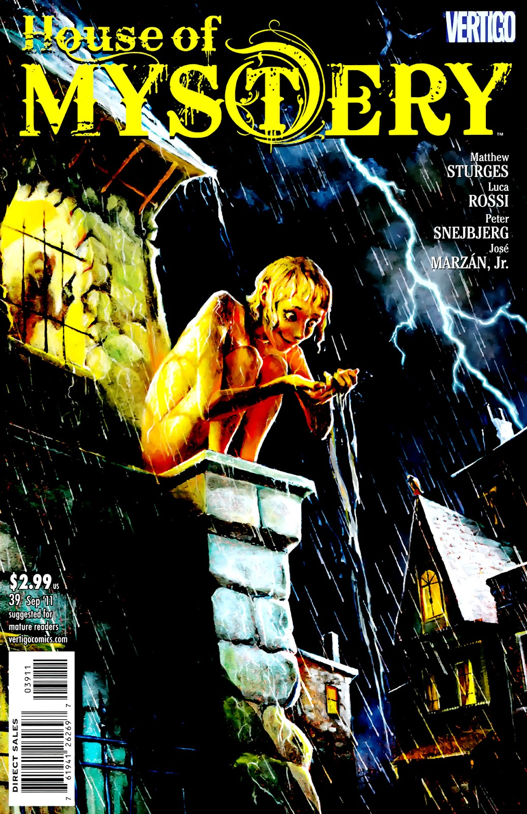 House of Mystery (2008) issue 39 - Page 1