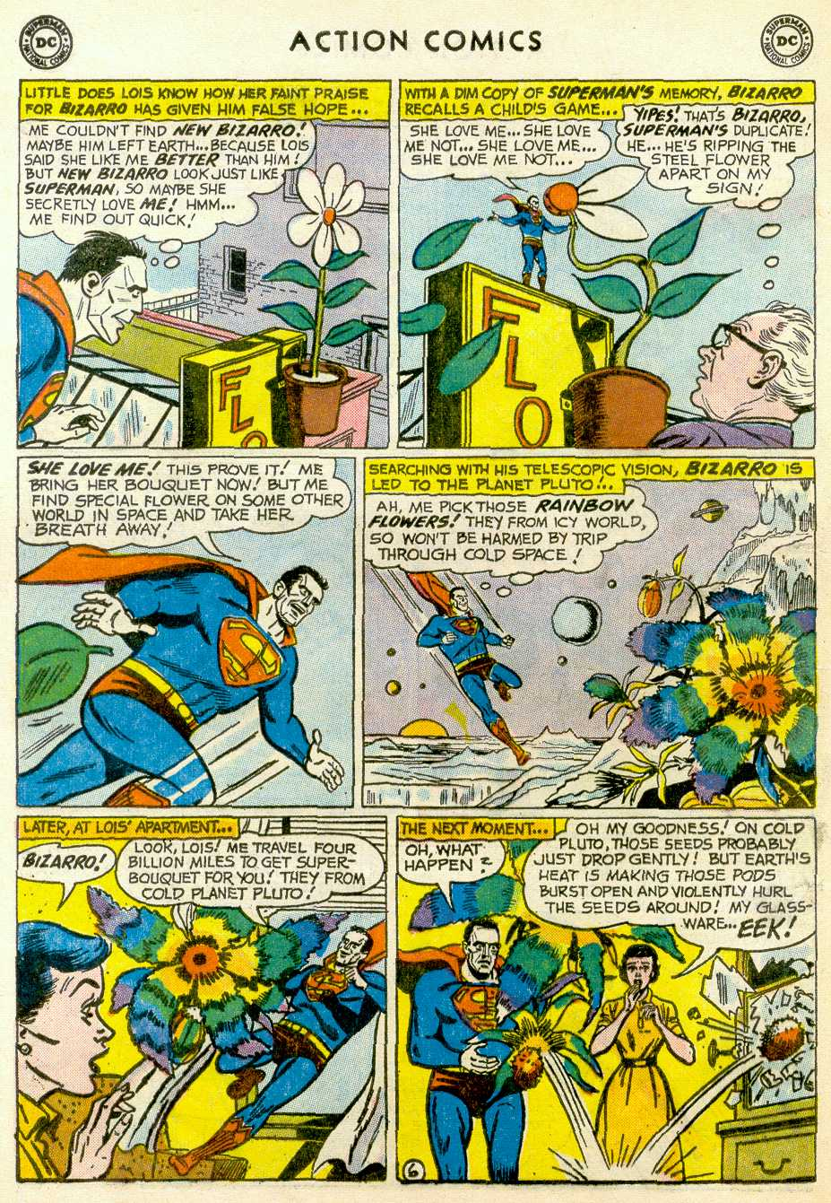 Read online Action Comics (1938) comic -  Issue #255 - 8