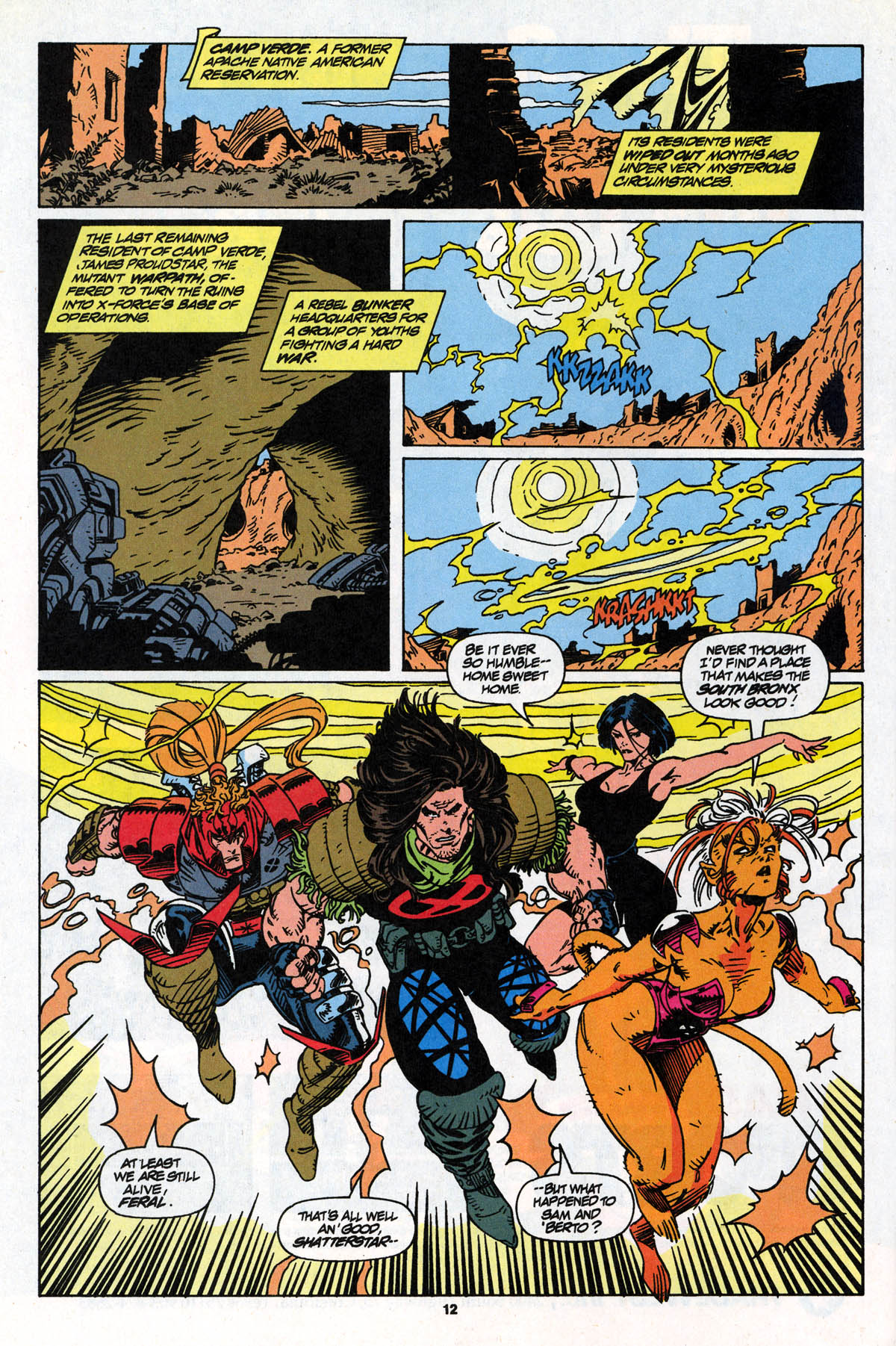 Read online X-Force (1991) comic -  Issue #22 - 13