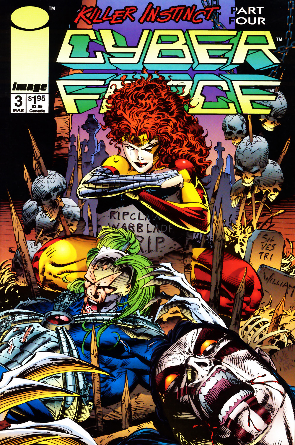 Cyberforce (1993) issue 3 - Page 1