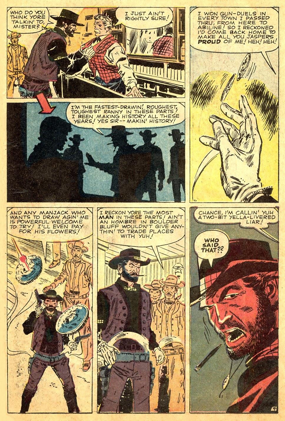 Gunsmoke Western issue 63 - Page 23