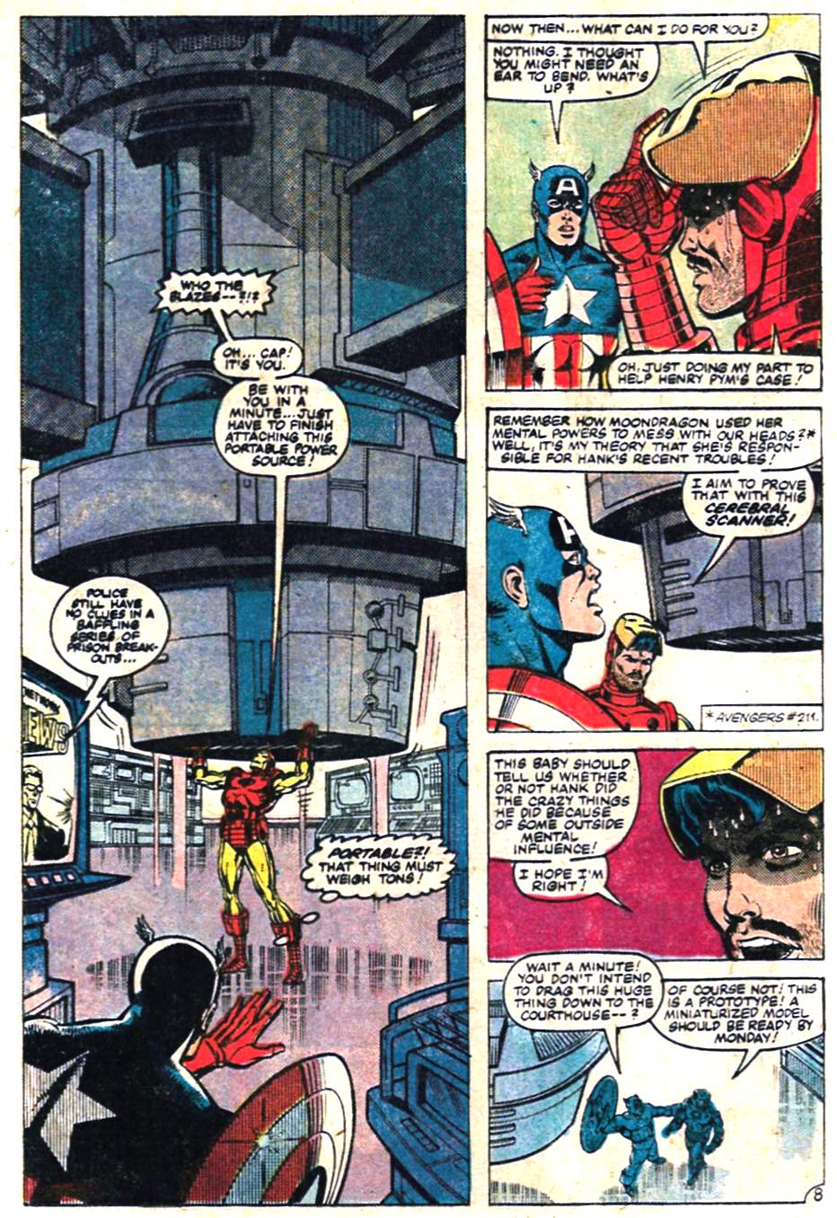 The Avengers (1963) 228 Page 8