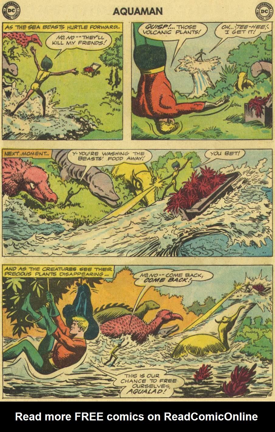 Read online Aquaman (1962) comic -  Issue #7 - 24