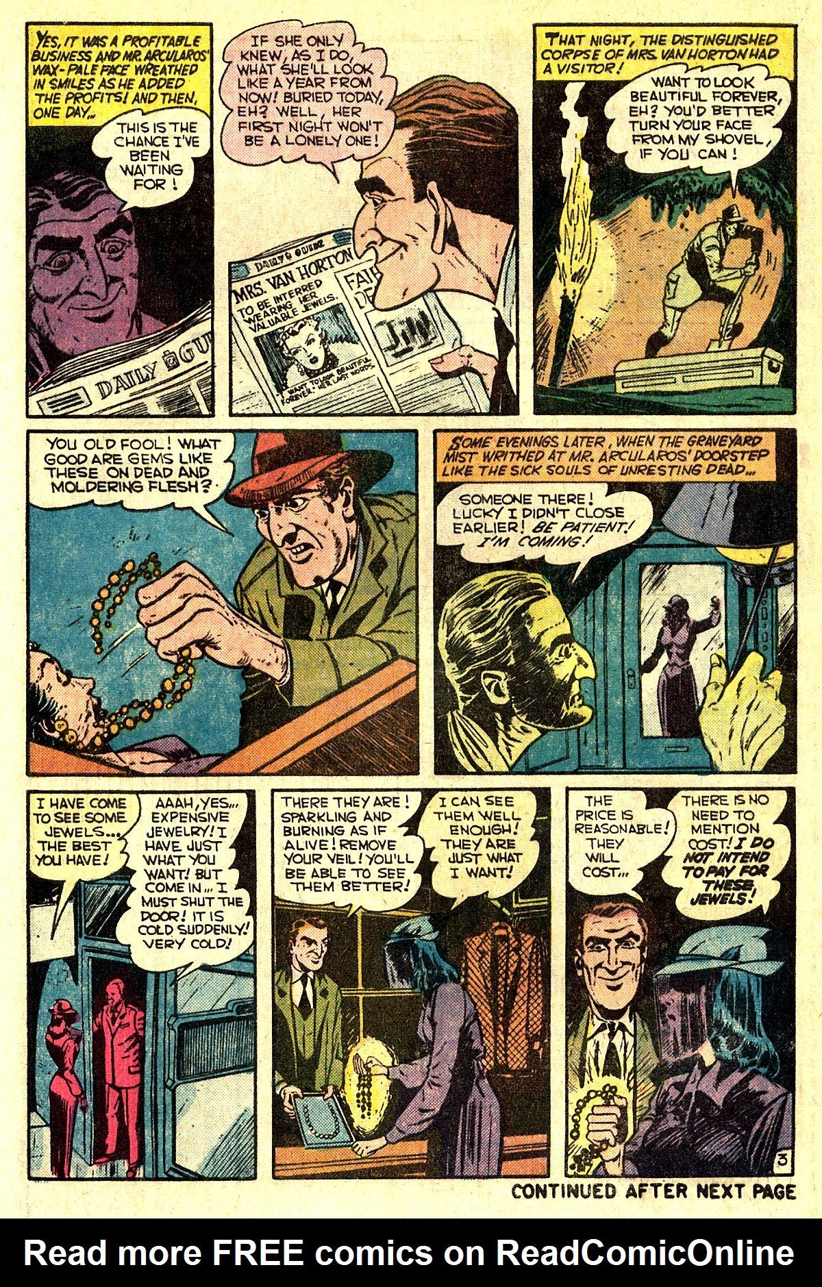 Read online Adventures into Weird Worlds comic -  Issue #5 - 23