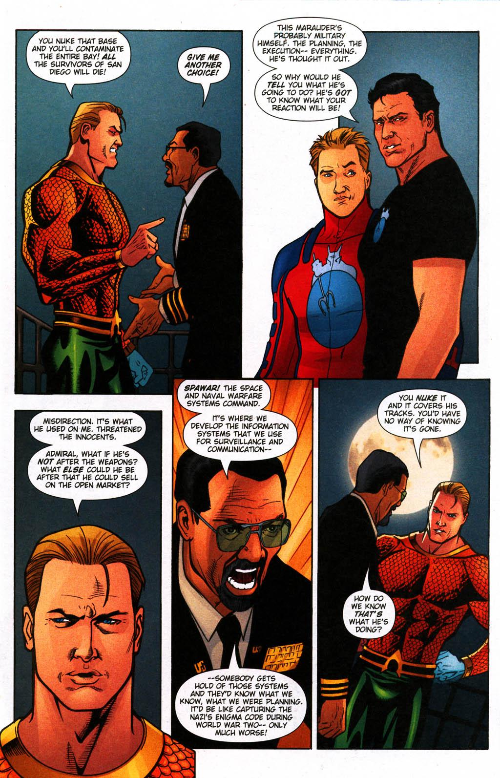Read online Aquaman (2003) comic -  Issue #24 - 12