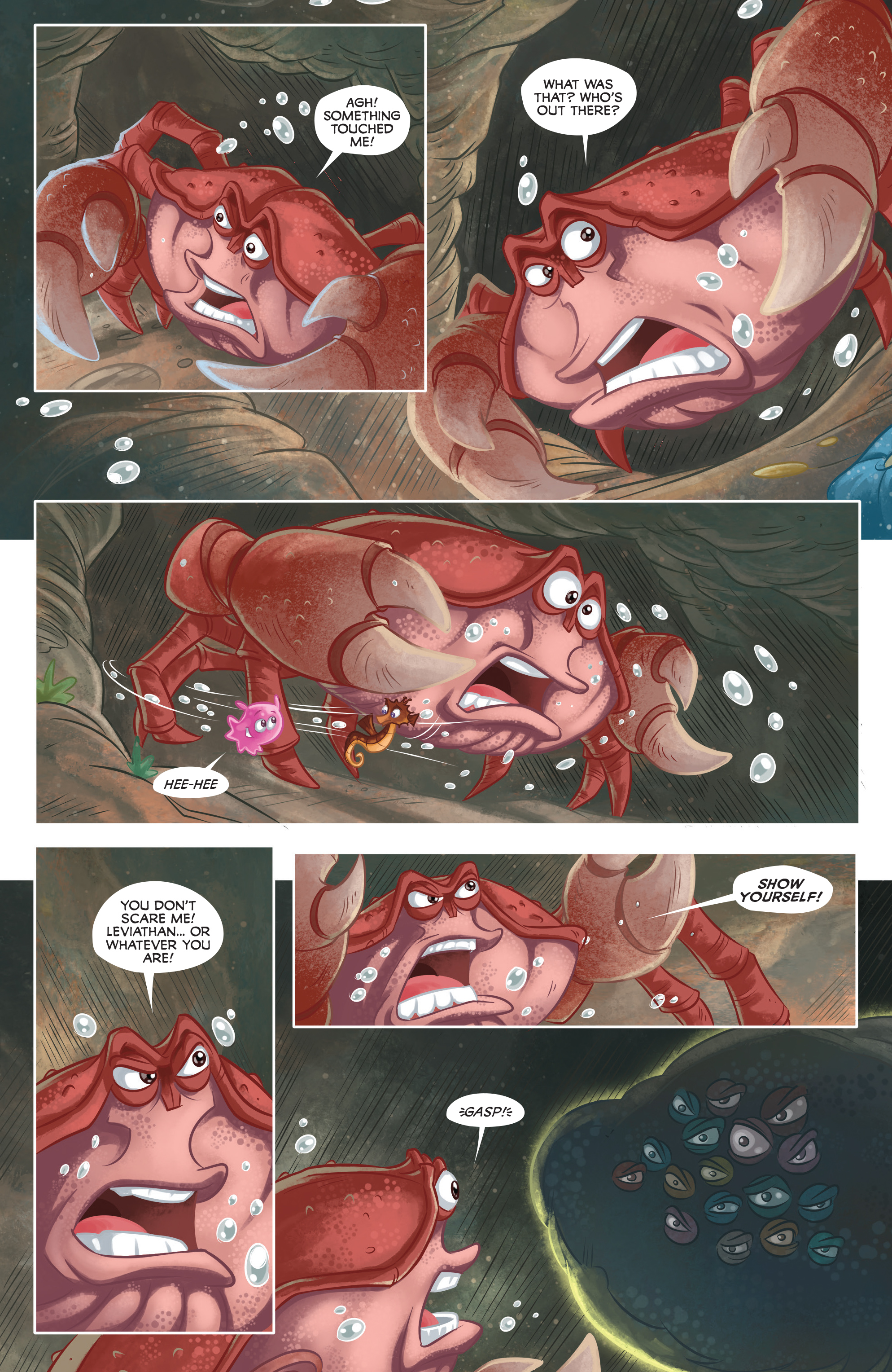 Read online Disney Pixar Finding Dory comic -  Issue #3 - 19