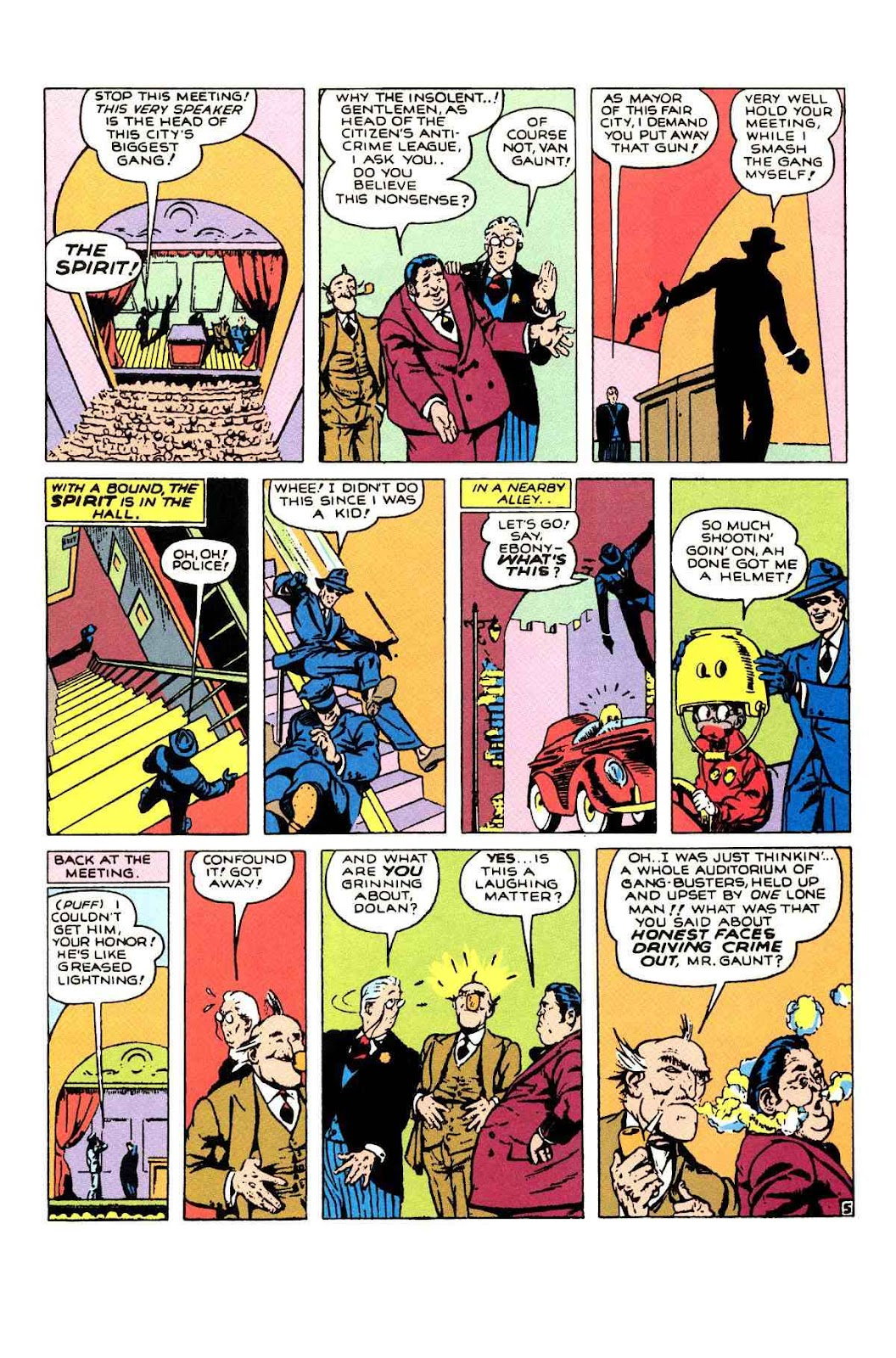 Read online Will Eisner's The Spirit Archives comic -  Issue # TPB 1 (Part 2) - 18