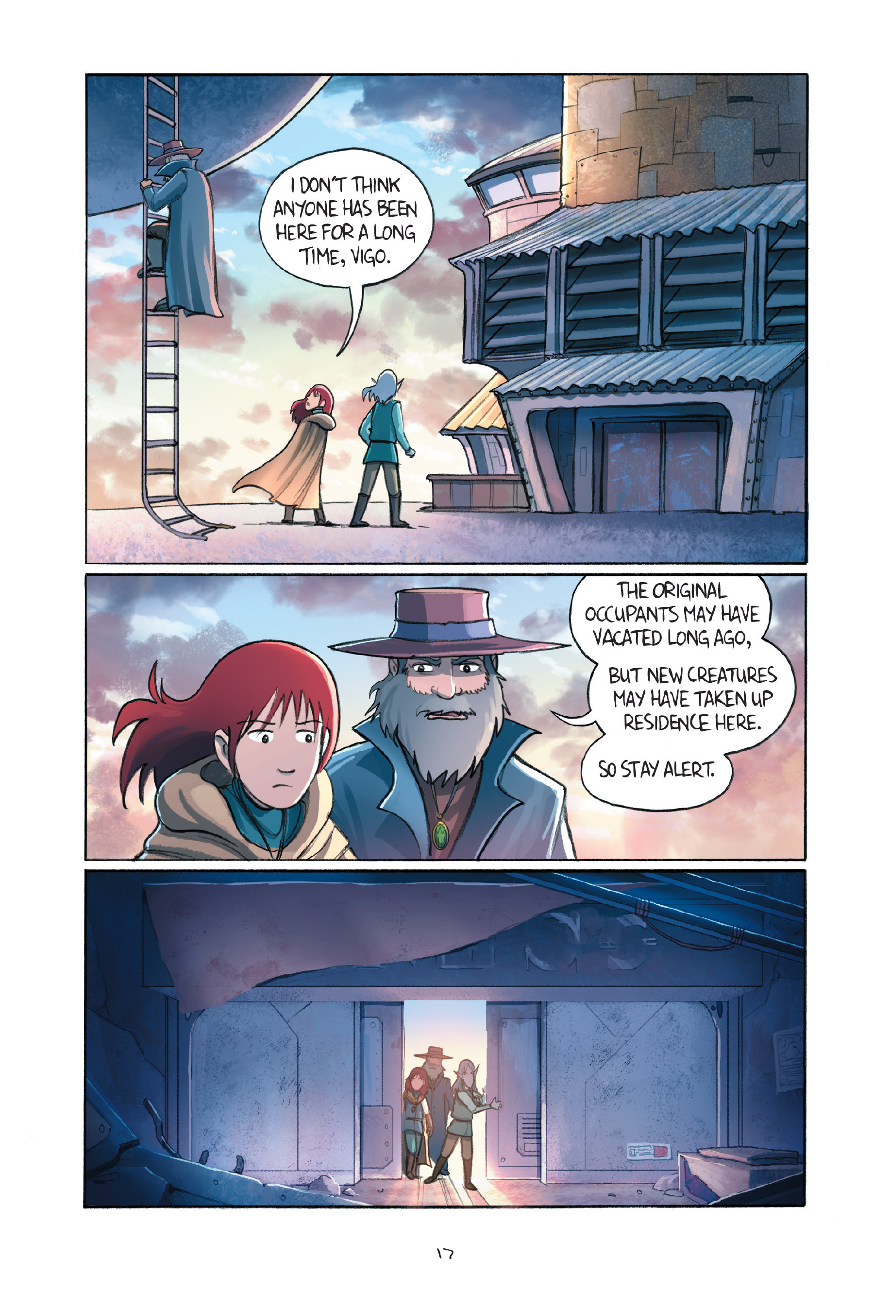 Read online Amulet comic -  Issue #7 - 20