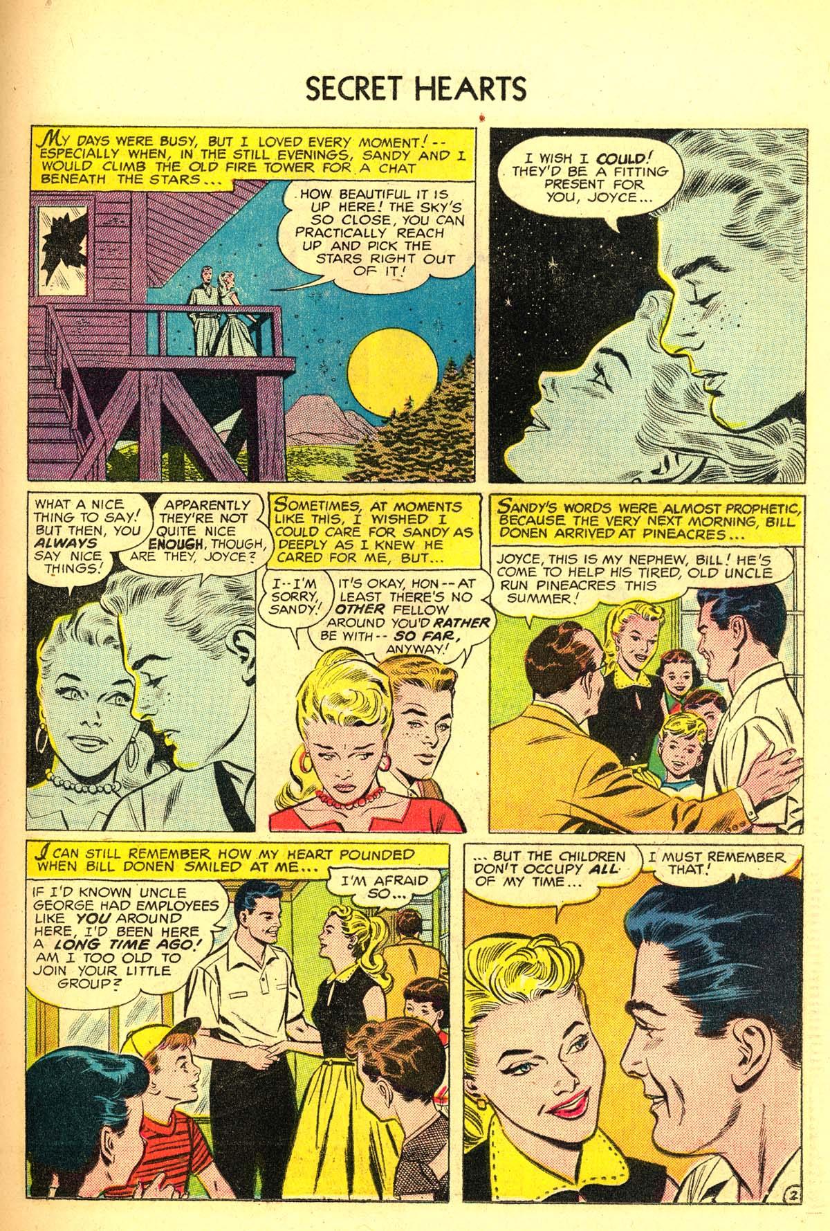 Read online Secret Hearts comic -  Issue #34 - 19
