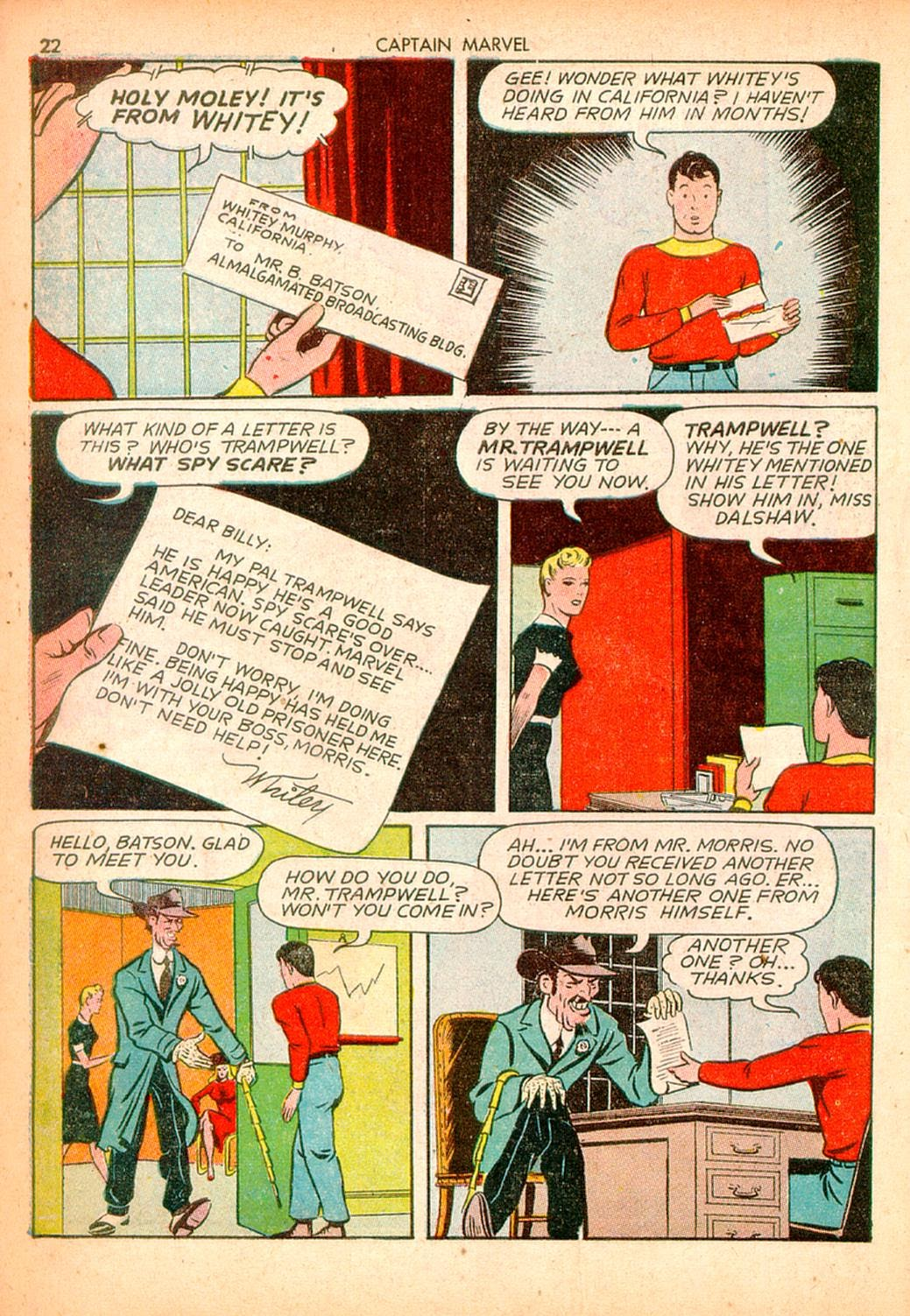 Captain Marvel Adventures issue 10 - Page 22