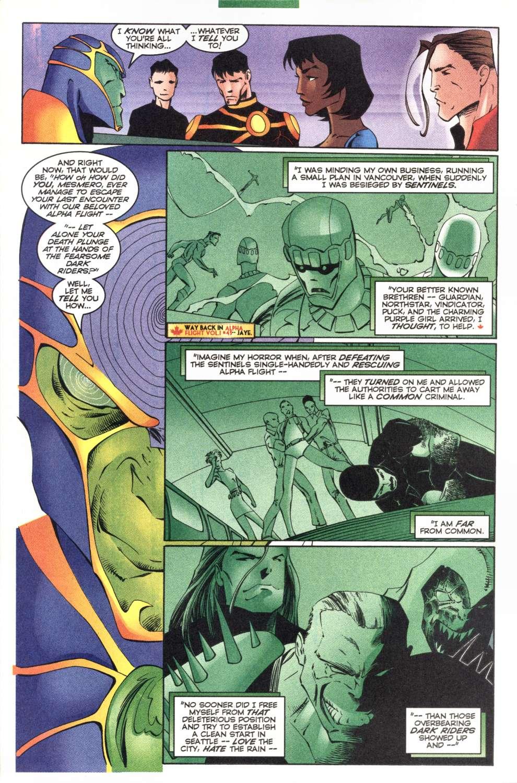 Read online Alpha Flight (1997) comic -  Issue #4 - 11