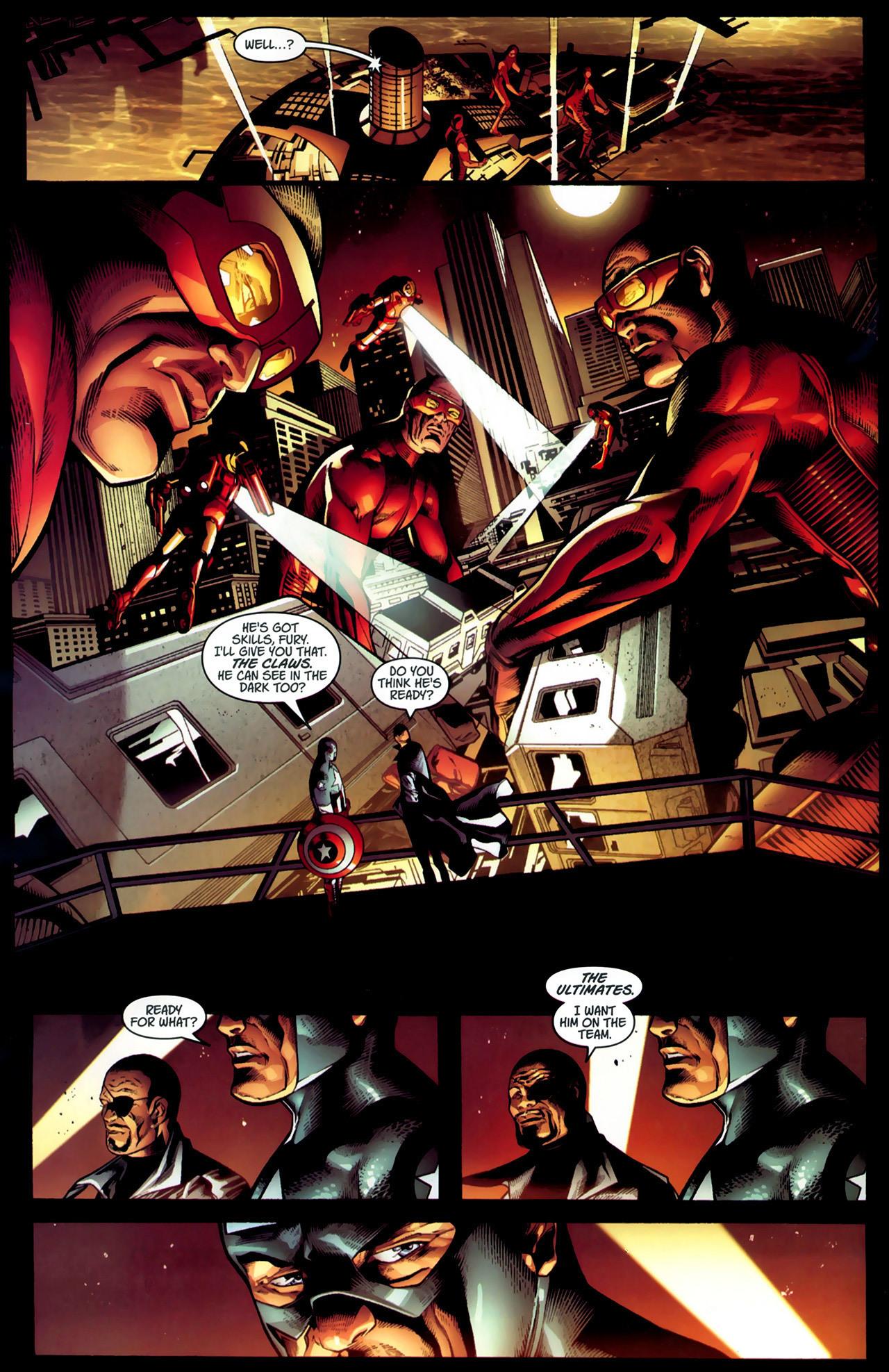 Read online Ultimate Captain America (2008) comic -  Issue # Full - 16