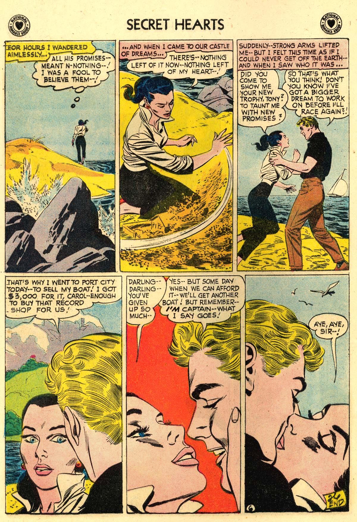 Read online Secret Hearts comic -  Issue #56 - 8