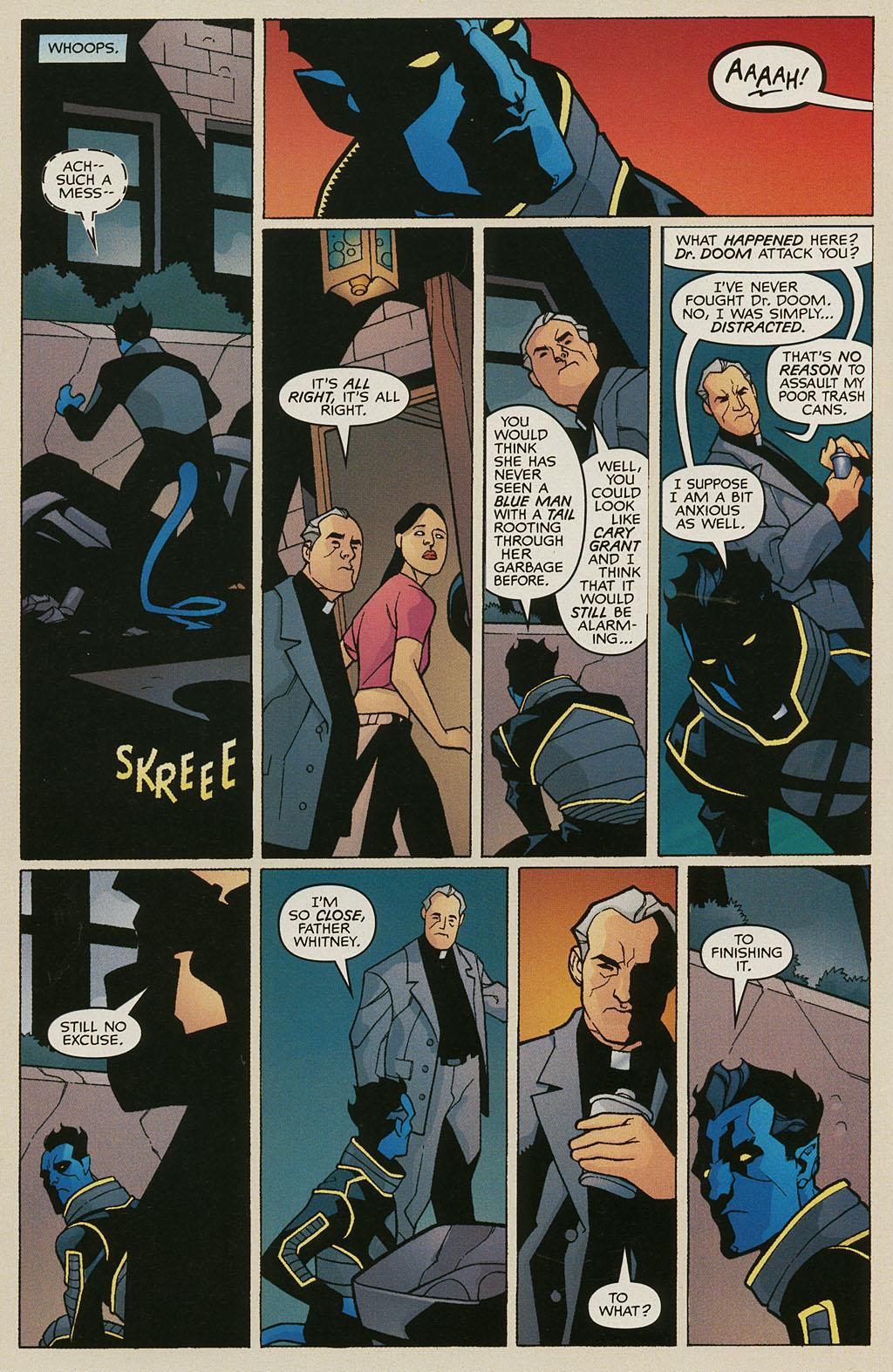 Read online Nightcrawler (2002) comic -  Issue #3 - 11