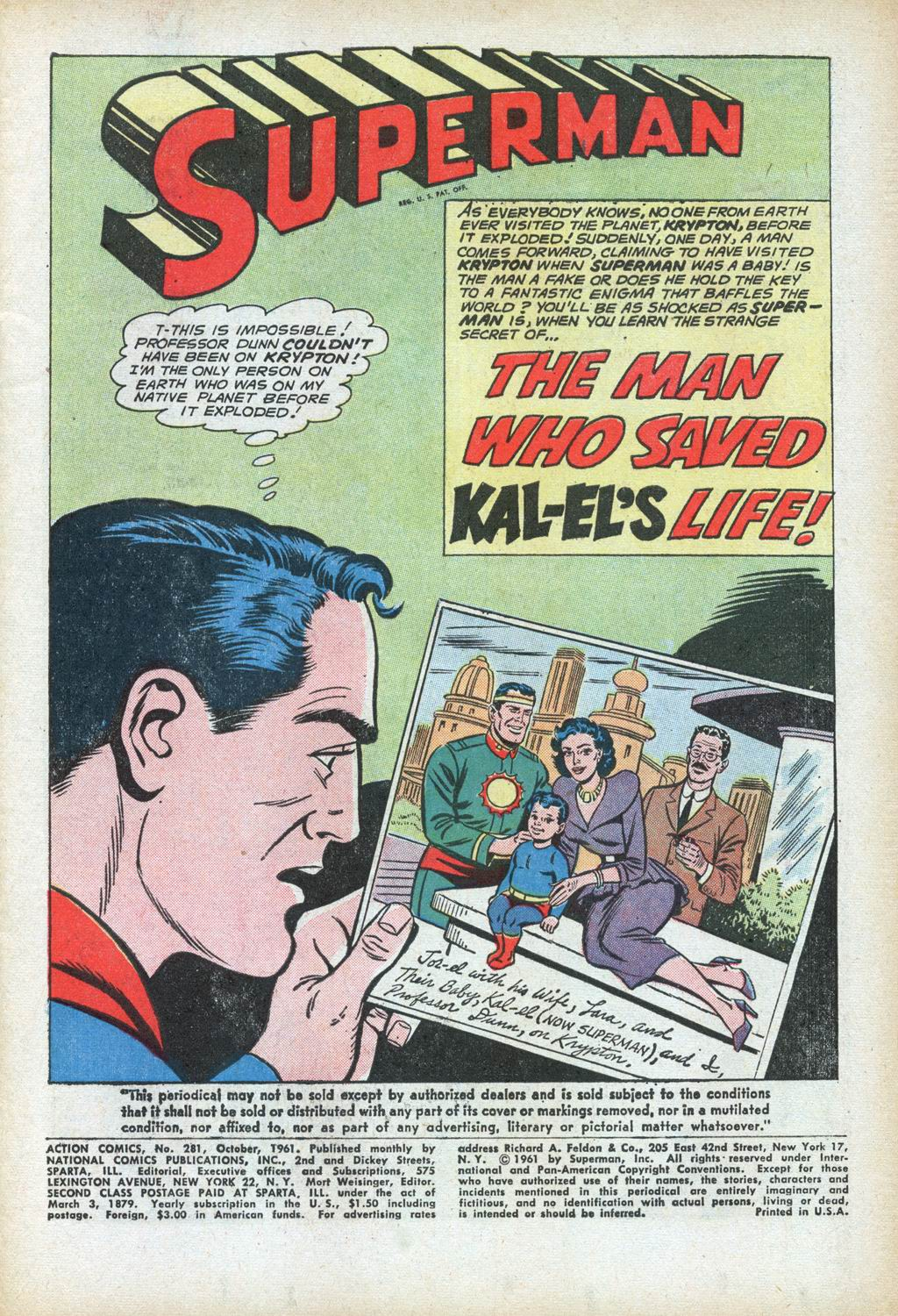 Read online Action Comics (1938) comic -  Issue #281 - 3
