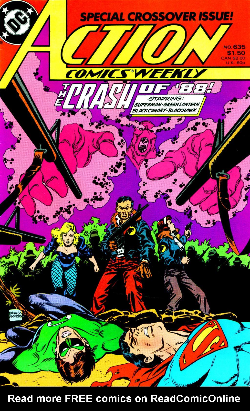 Action Comics (1938) 635 Page 0