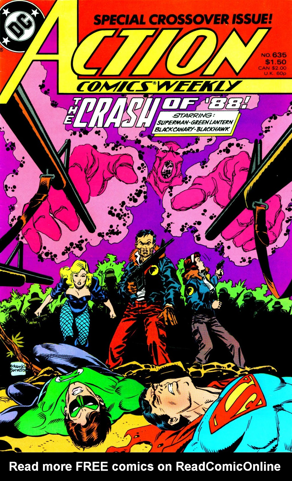 Action Comics (1938) 635 Page 1
