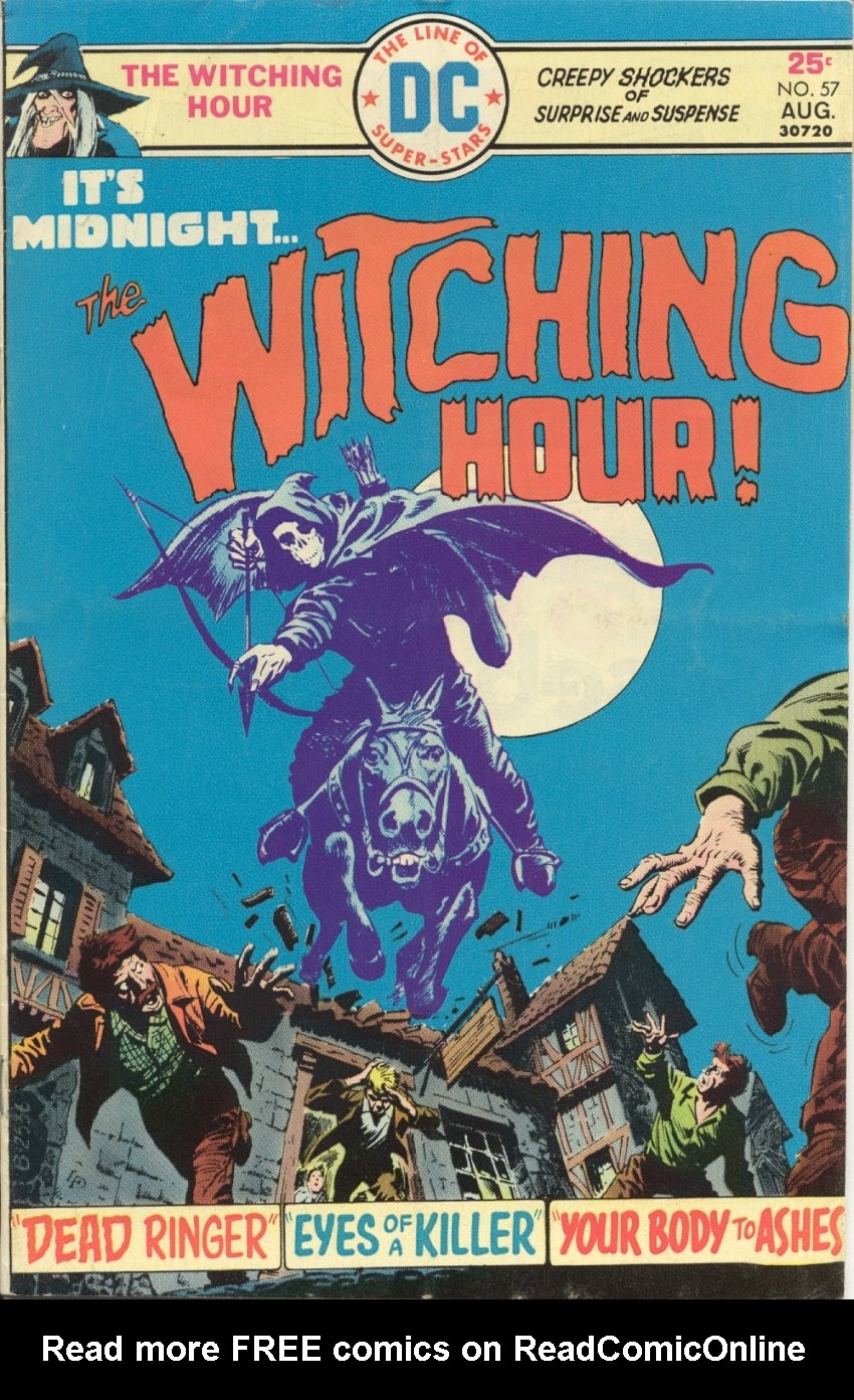 The Witching Hour (1969) issue 57 - Page 1