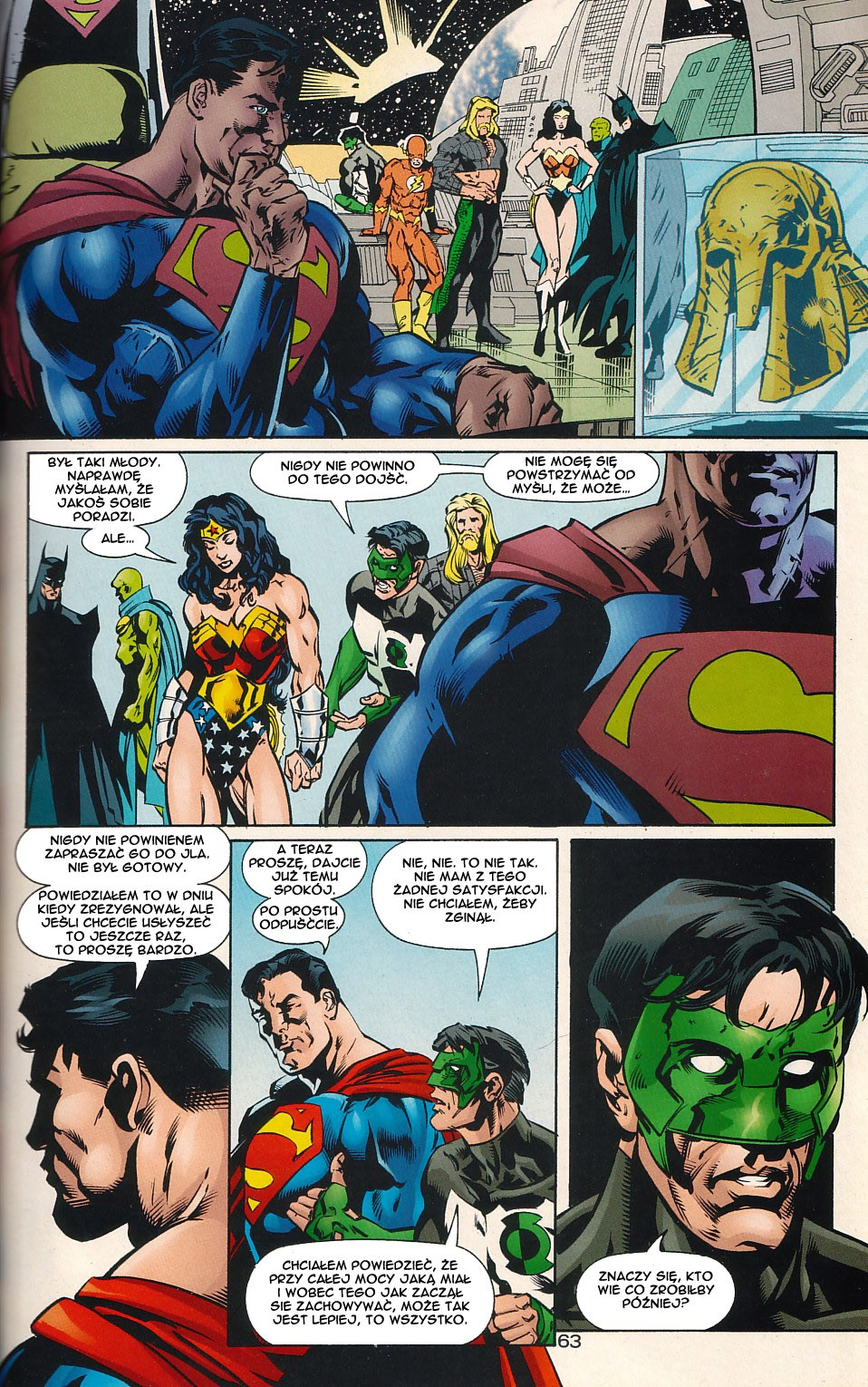 Read online JLA Superpower comic -  Issue # Full - 63