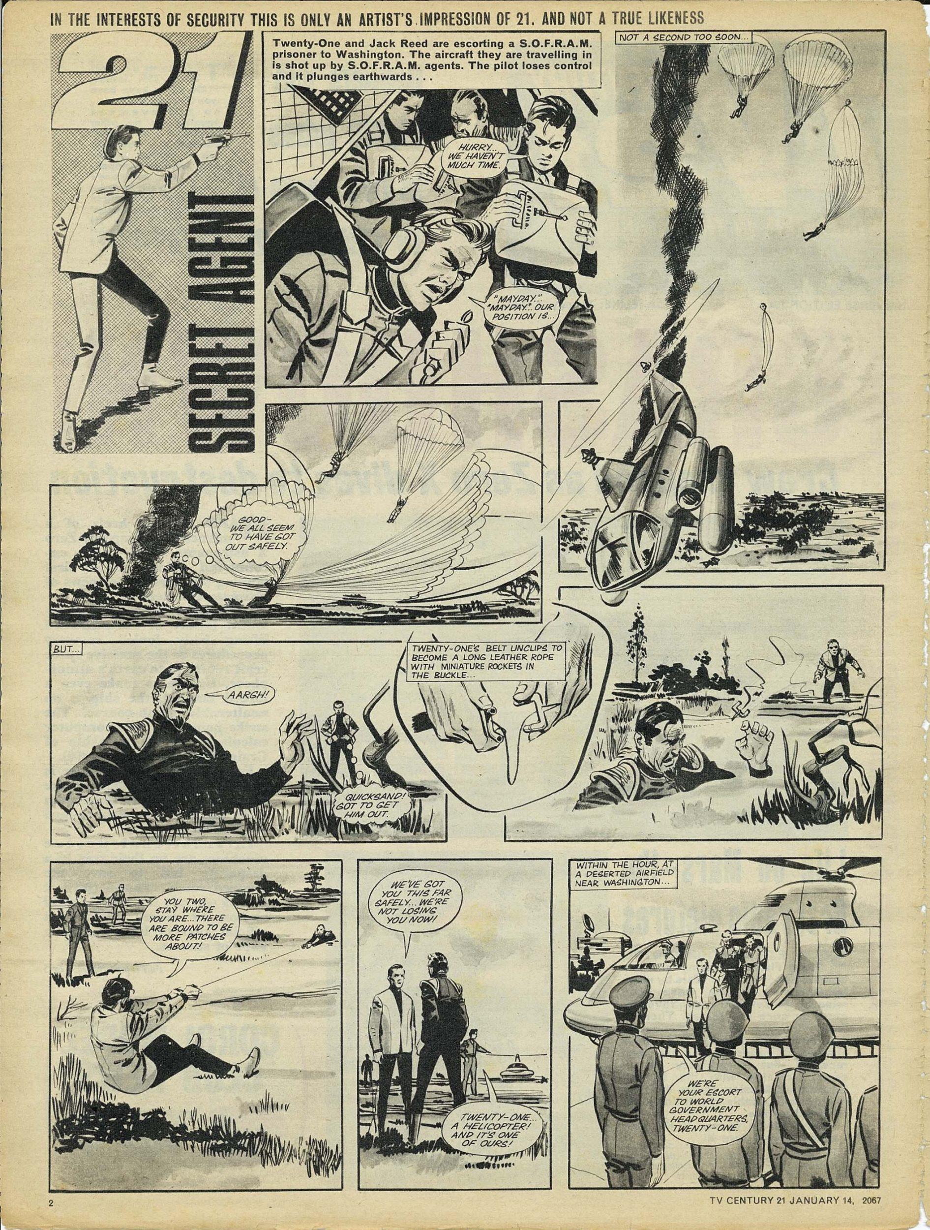 Read online TV Century 21 (TV 21) comic -  Issue #104 - 2
