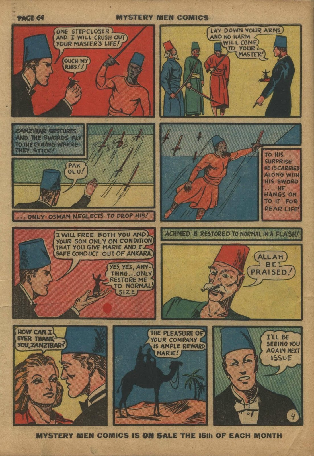 Mystery Men Comics issue 10 - Page 66