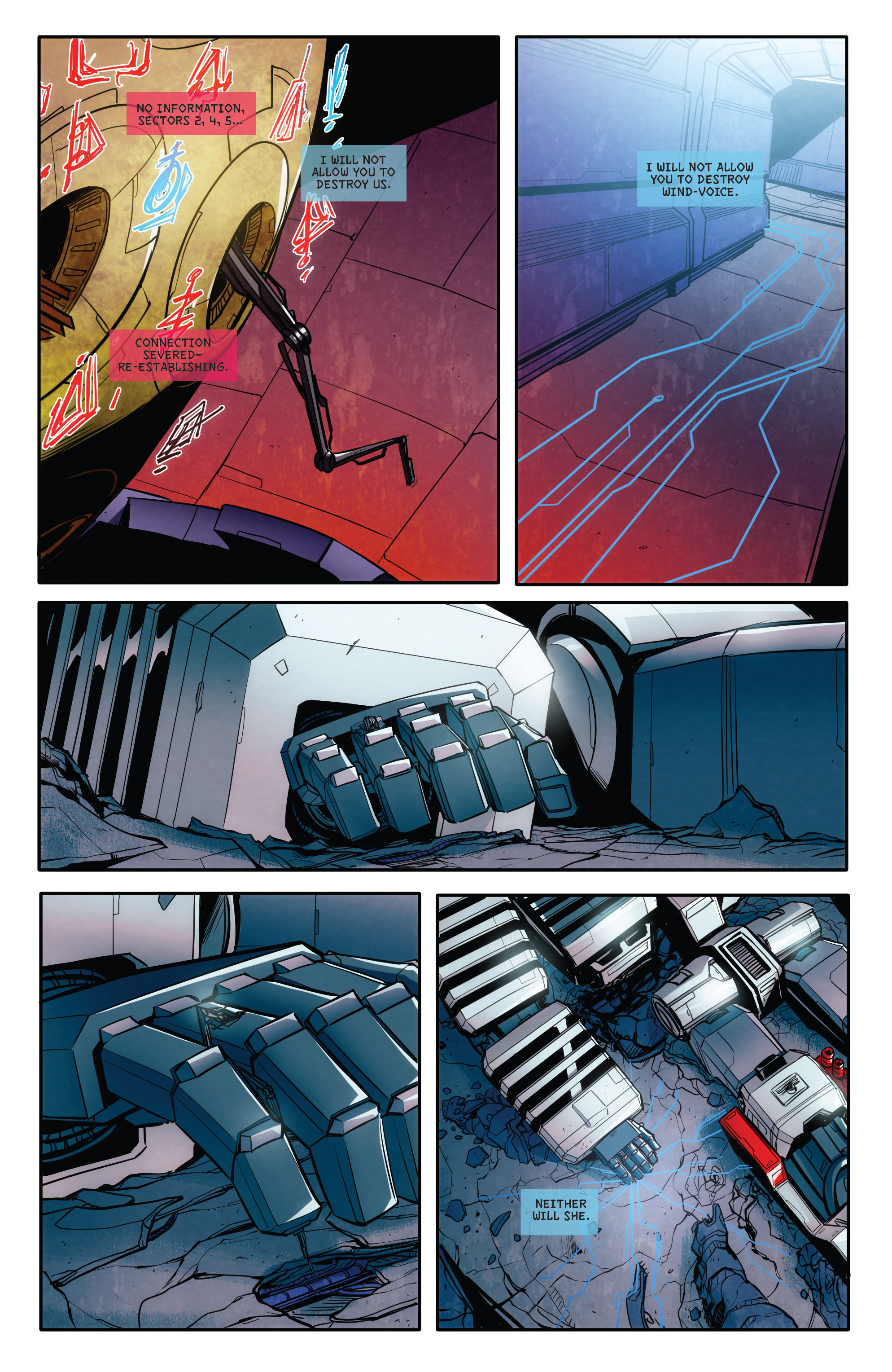 Read online Transformers: Till All Are One comic -  Issue #8 - 12