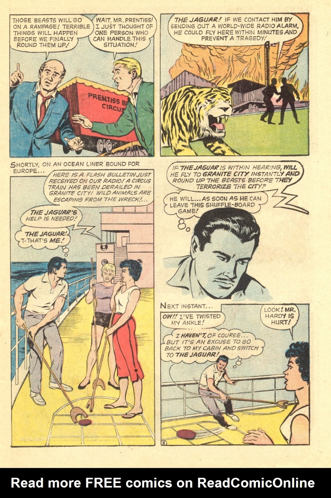 Adventures of the Jaguar issue 4 - Page 15