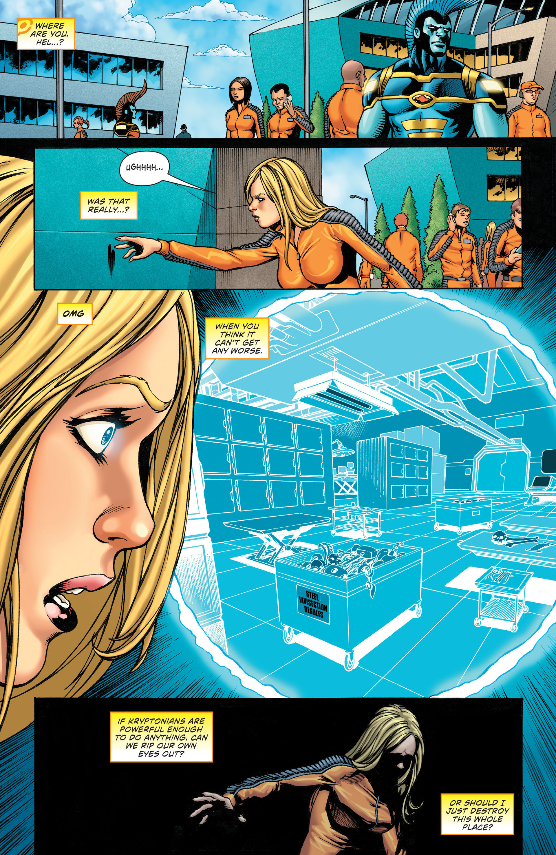 Read online Worlds' Finest: Futures End comic -  Issue # Full - 7