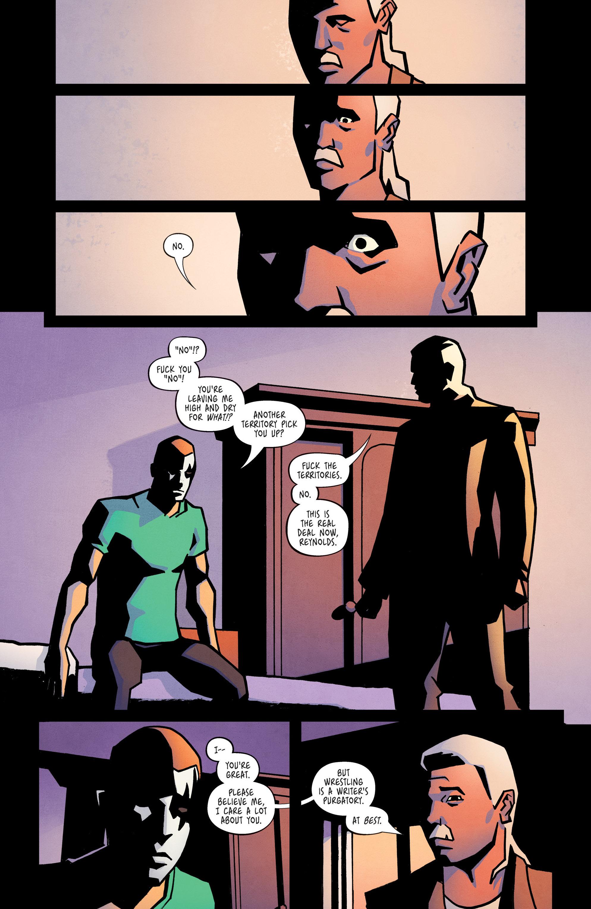 Read online Ringside comic -  Issue #10 - 10