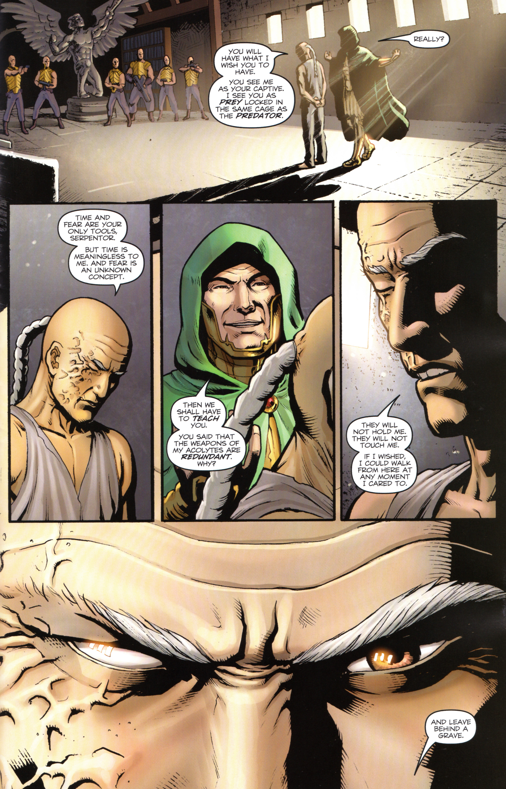 Read online Snake Eyes and Storm Shadow comic -  Issue #17 - 21