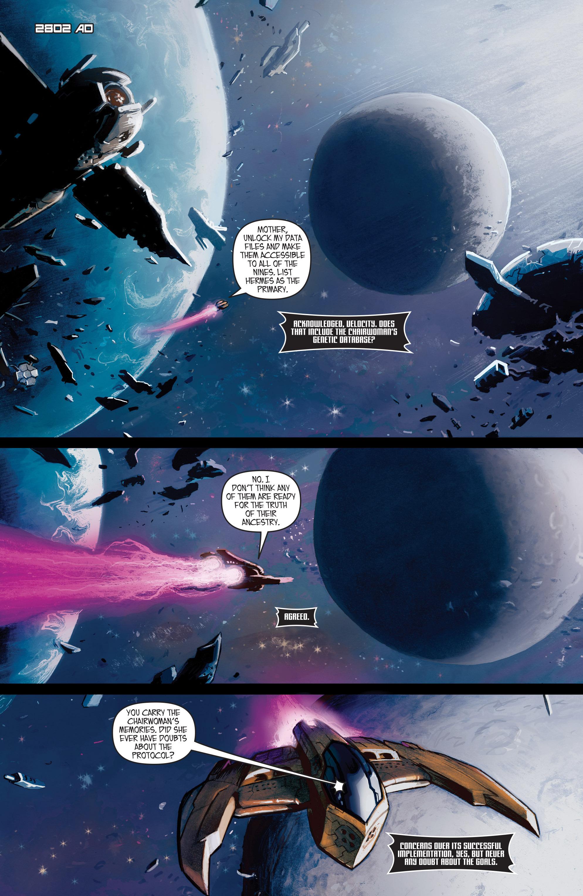 Read online IXth Generation Hidden Files comic -  Issue #1 - 5