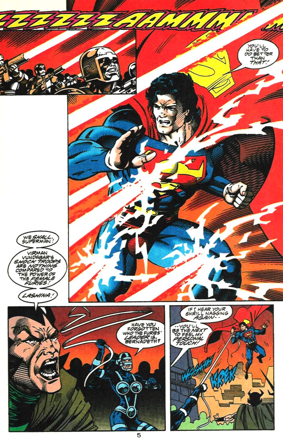 Read online Adventures of Superman (1987) comic -  Issue #518 - 6
