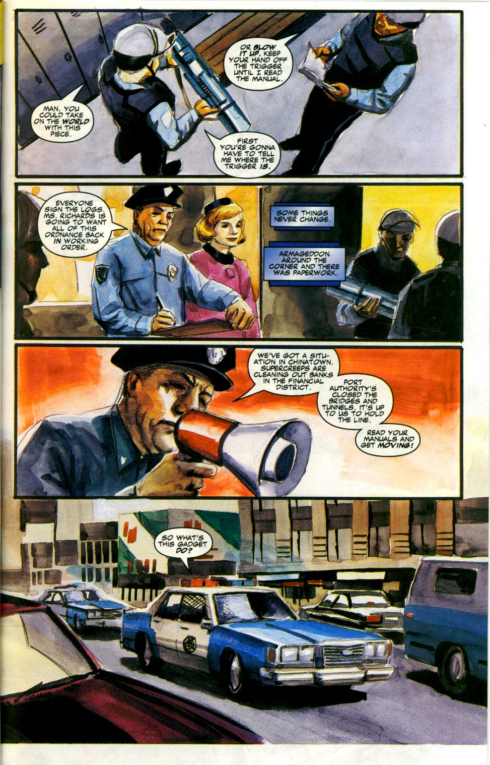 Read online Code of Honor comic -  Issue #3 - 28