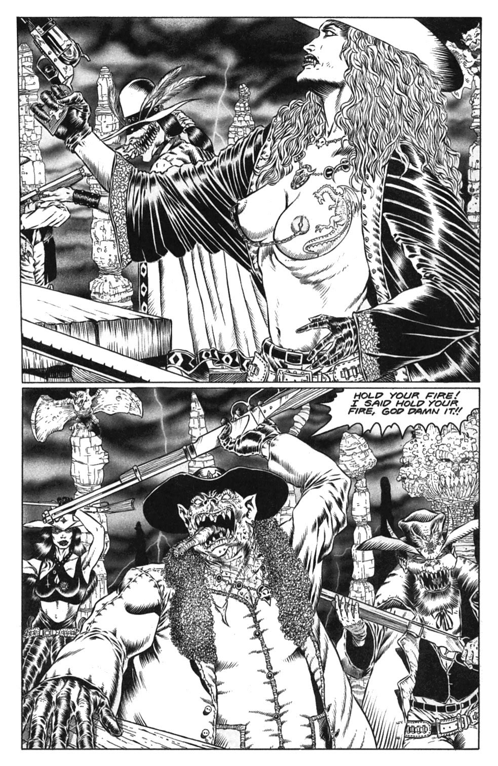 Read online Gunfighters in Hell comic -  Issue #3 - 28