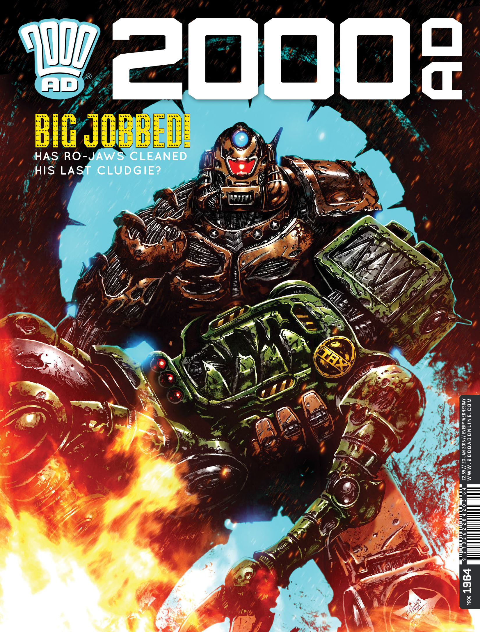 Read online 2000 AD comic -  Issue #1964 - 1