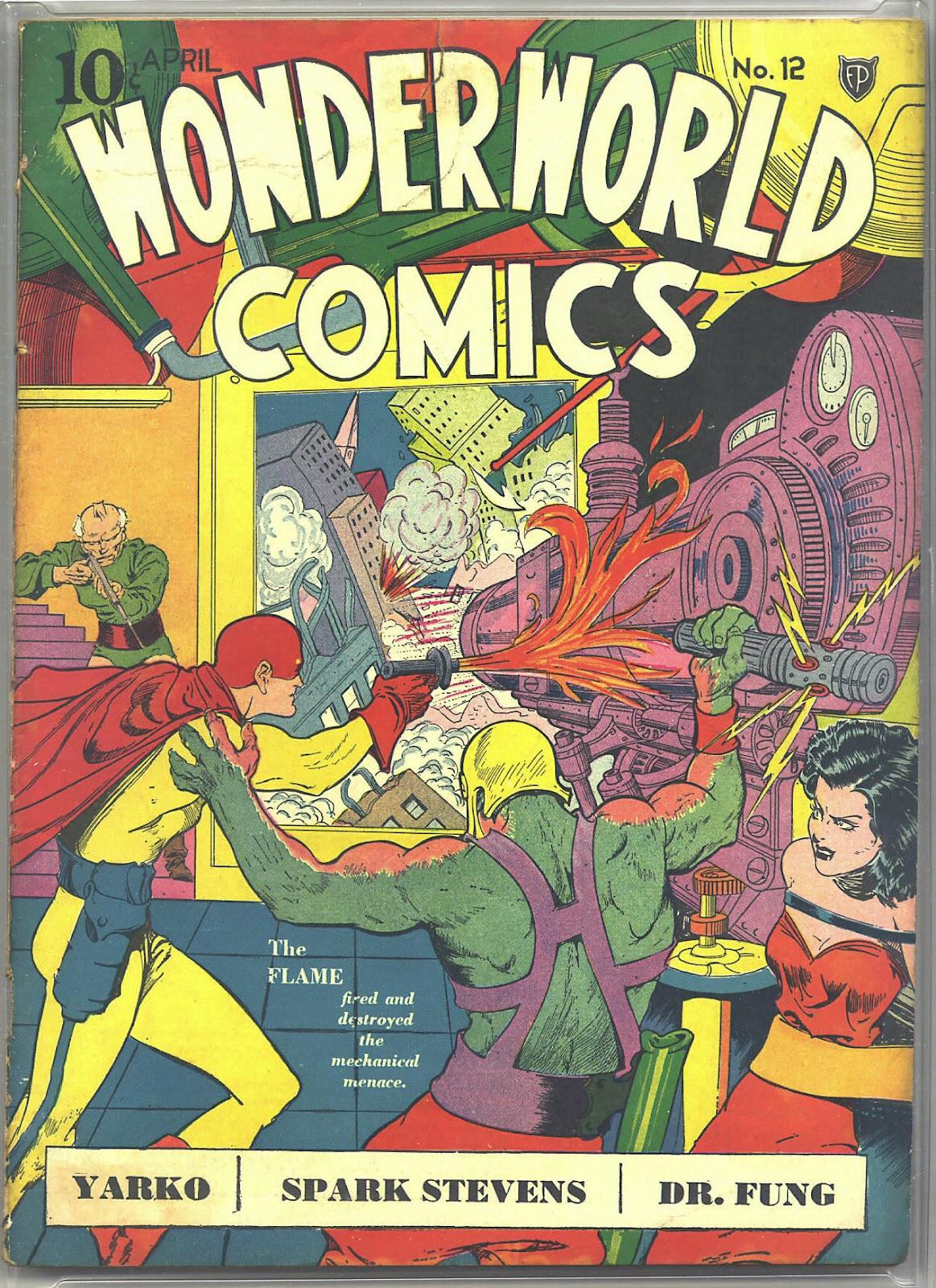 Wonderworld Comics issue 12 - Page 1