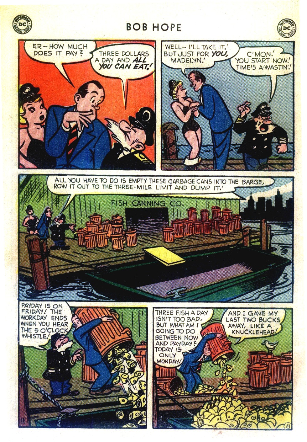 The Adventures of Bob Hope issue 27 - Page 10