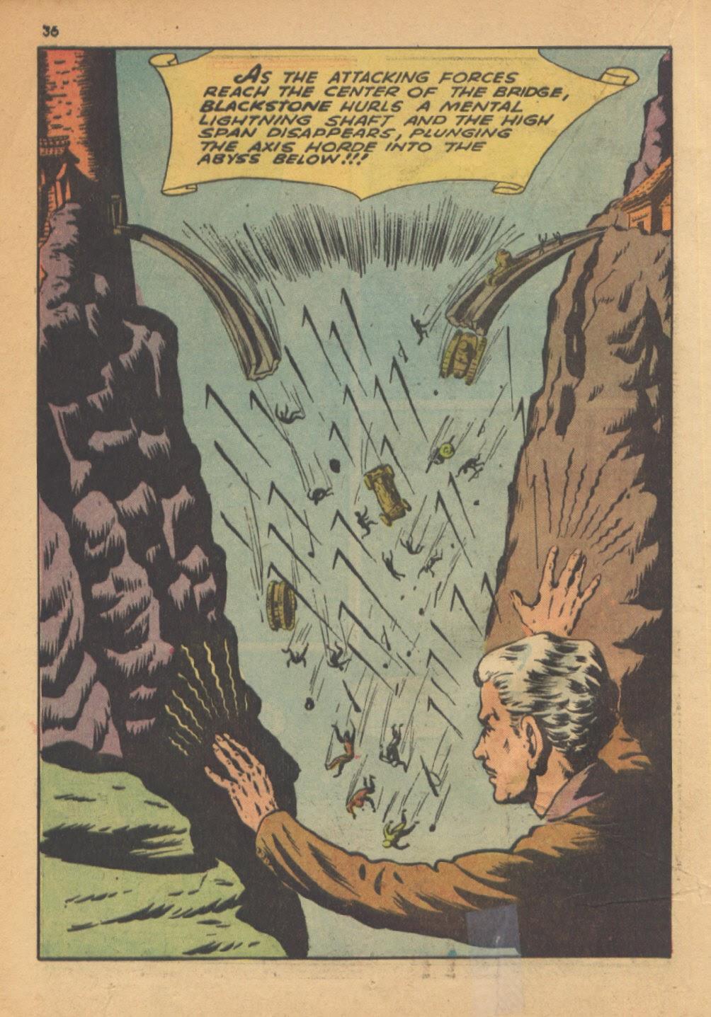 Read online Super-Magician Comics comic -  Issue #13 - 36